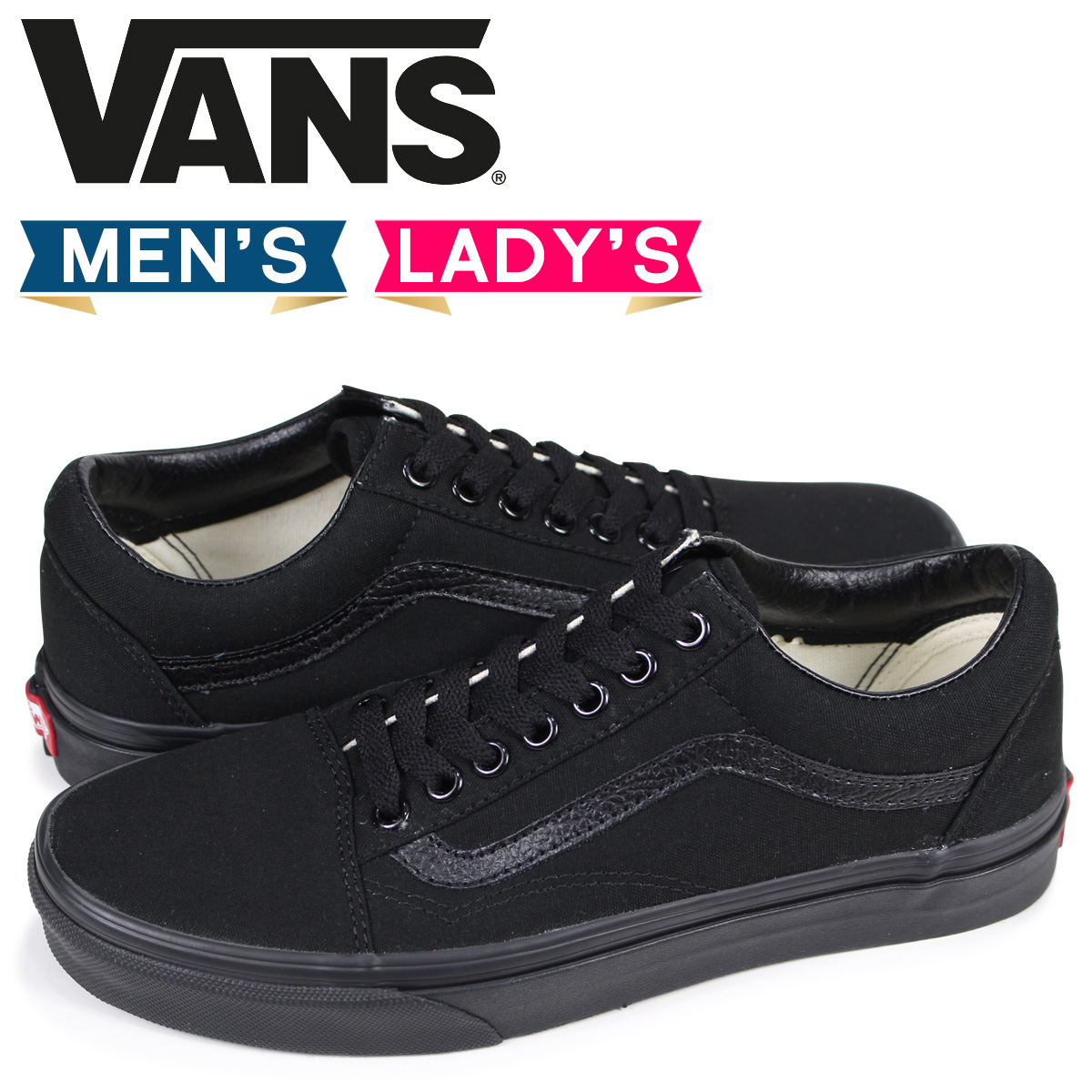 7b2d4a9f2e VANS old school sneakers men gap Dis vans station wagons OLD SKOOL  VN000D3HBKA black  3 1 Shinnyu load