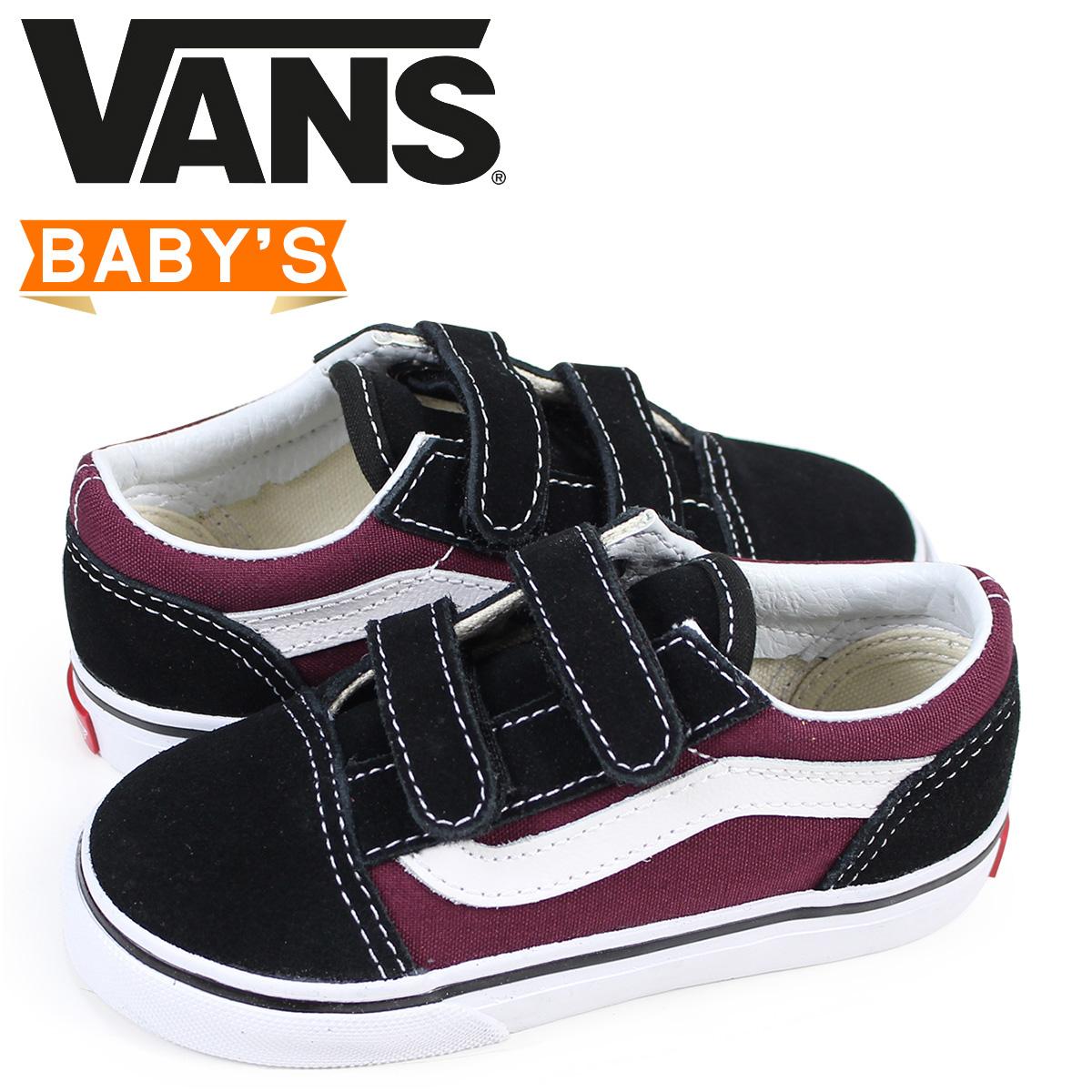 3b5dca32c9ca VANS old school baby sneakers vans station wagons OLD SKOOL V VN0A344KQ7J  black  3 15 Shinnyu load
