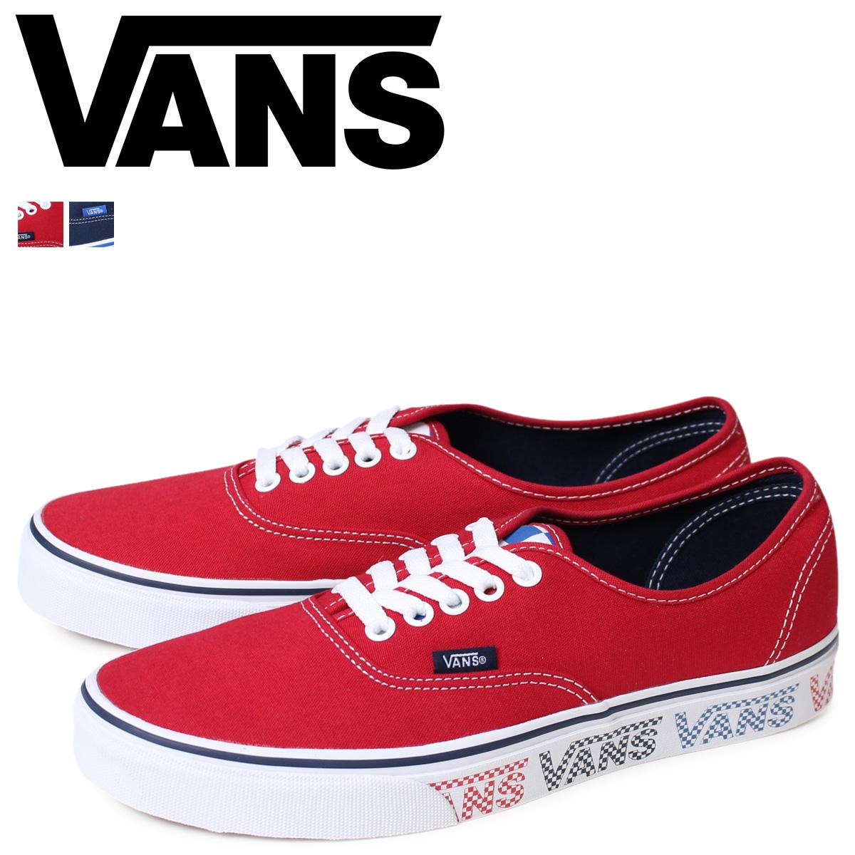 VANS确实的卡车人运动鞋旅行车AUTHENTIC VN0A38EMMQO VN0A38EMMQP鞋[2/9新进货]