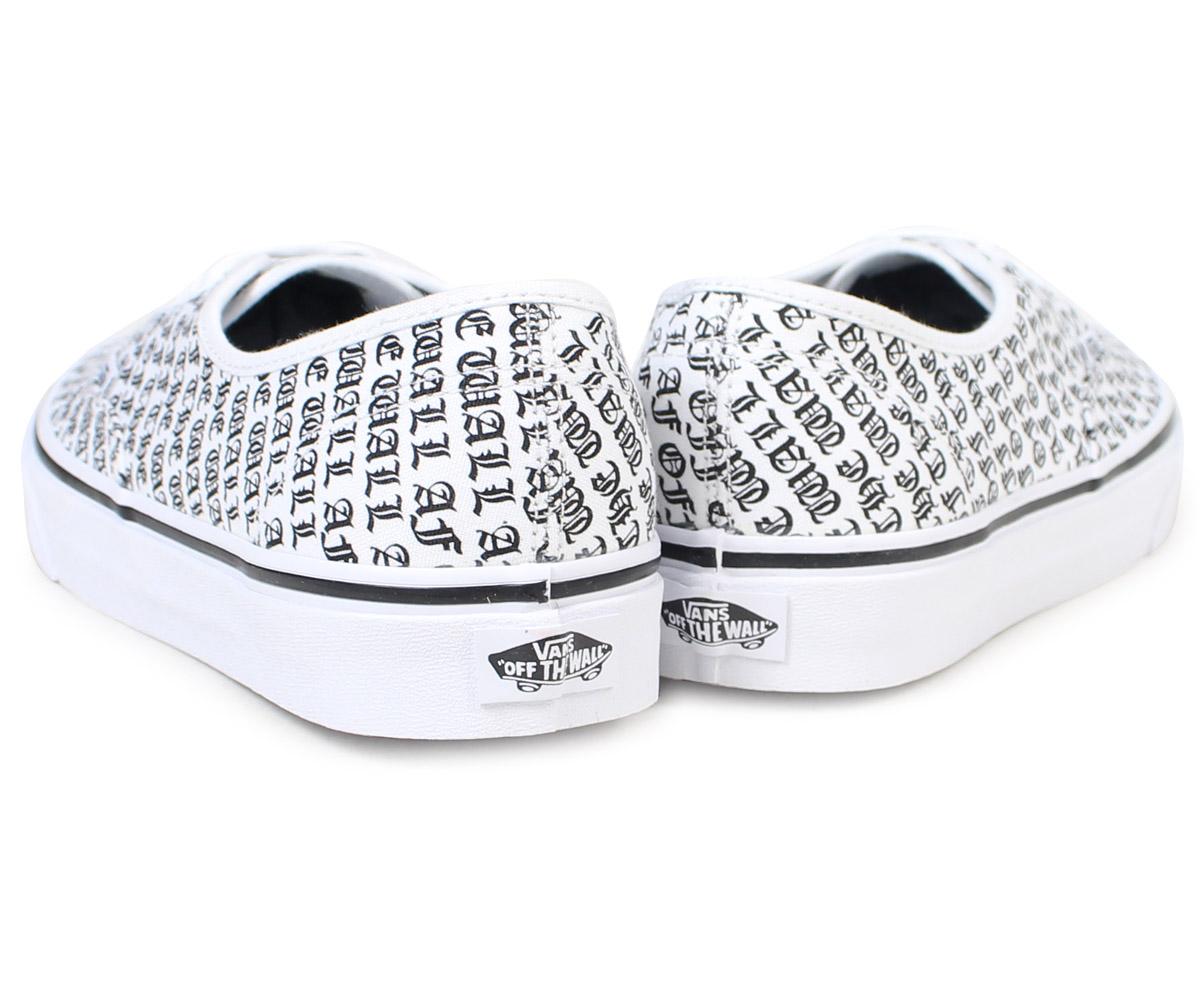 6ed68cdee14 VANS authentic sneakers men vans station wagons AUTHENTIC OTW-AF  VN0A38EMOQO shoes white  9 12 Shinnyu load