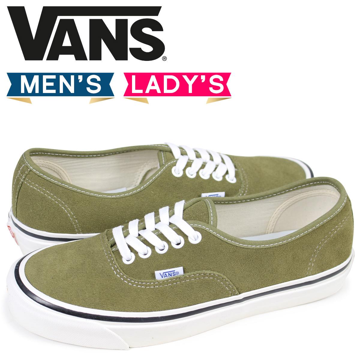 aac23e8e55 VANS authentic sneakers men gap Dis vans station wagons AUTHENTIC 44 DX  VN0A38ENQT0 olive  3 13 Shinnyu load