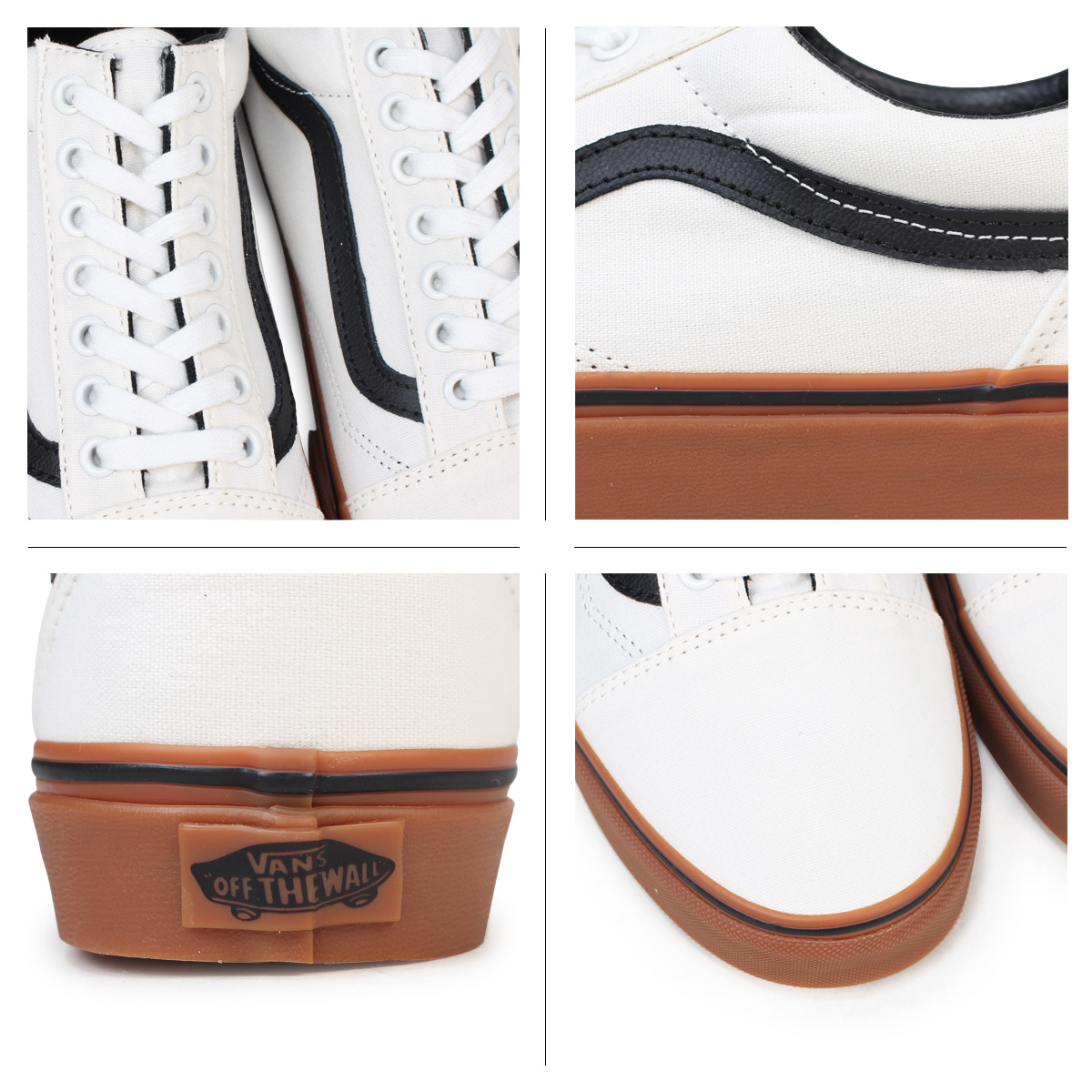 986cff3f9fb988 VANS old school sneakers men gum sole vans station wagons OLD SKOOL GUM  VN0A38G1MW1 men shoes white  the 5 16 additional arrival