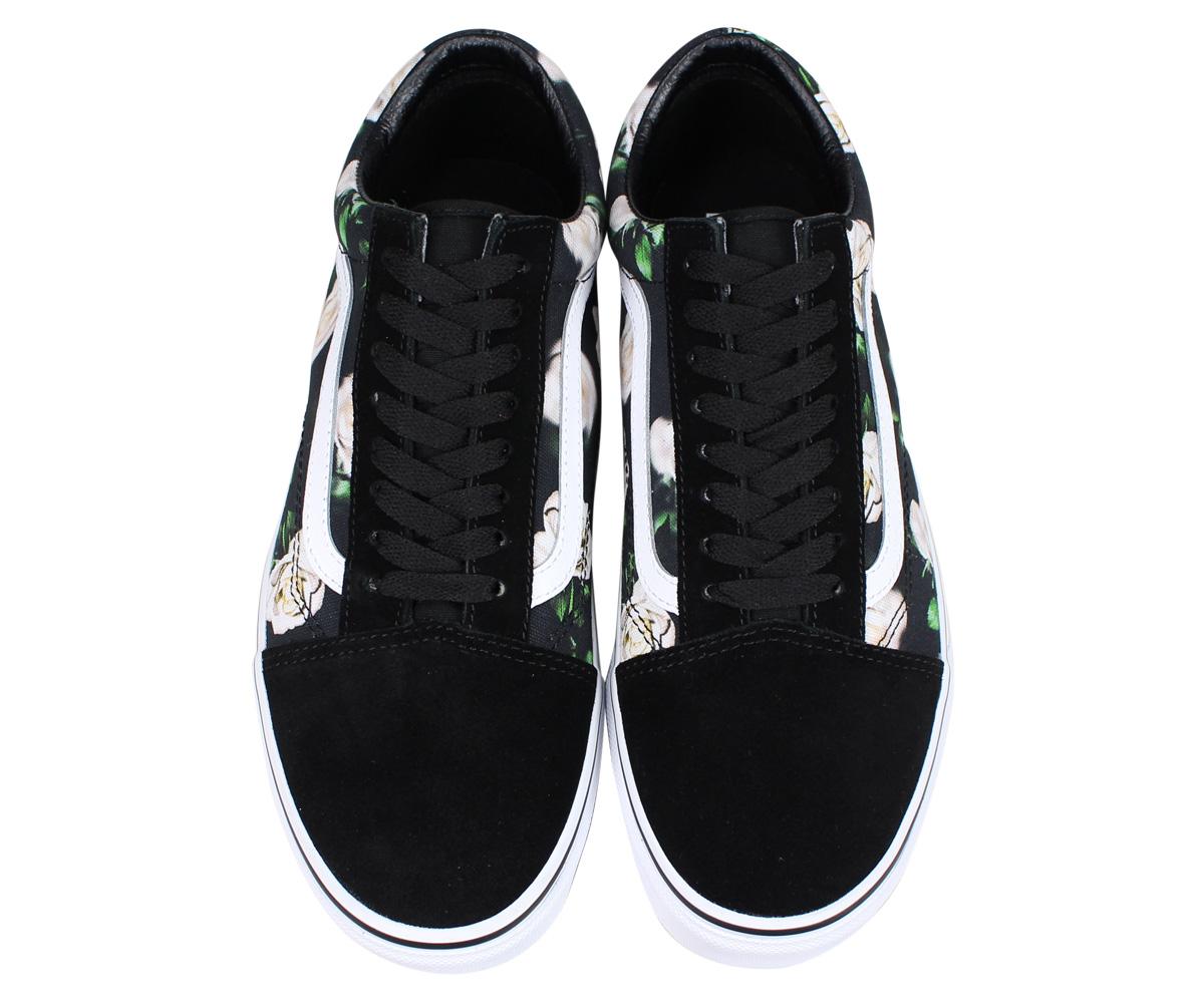 VANS station wagons old school sneakers men gap Dis vans OLD SKOOL ROMANTIC FLORAL black black VN0A38G1VRK