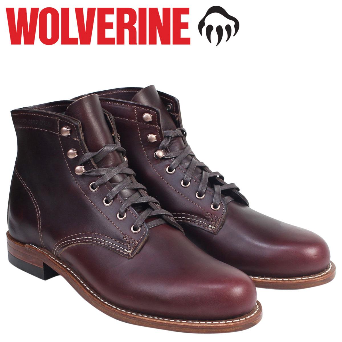 ウルヴァリン 1000マイル ブーツ WOLVERINE 1000MILE ワークブーツ BOOT NO 8 W00137 コードバン メンズ