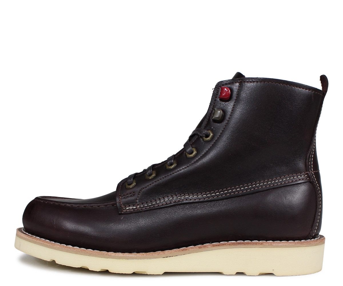 0d671585cde Wolverene WOLVERINE boots Louis wedge men LOUIS WEDGE BOOT M Wise dark  brown W40409  2 22 Shinnyu load