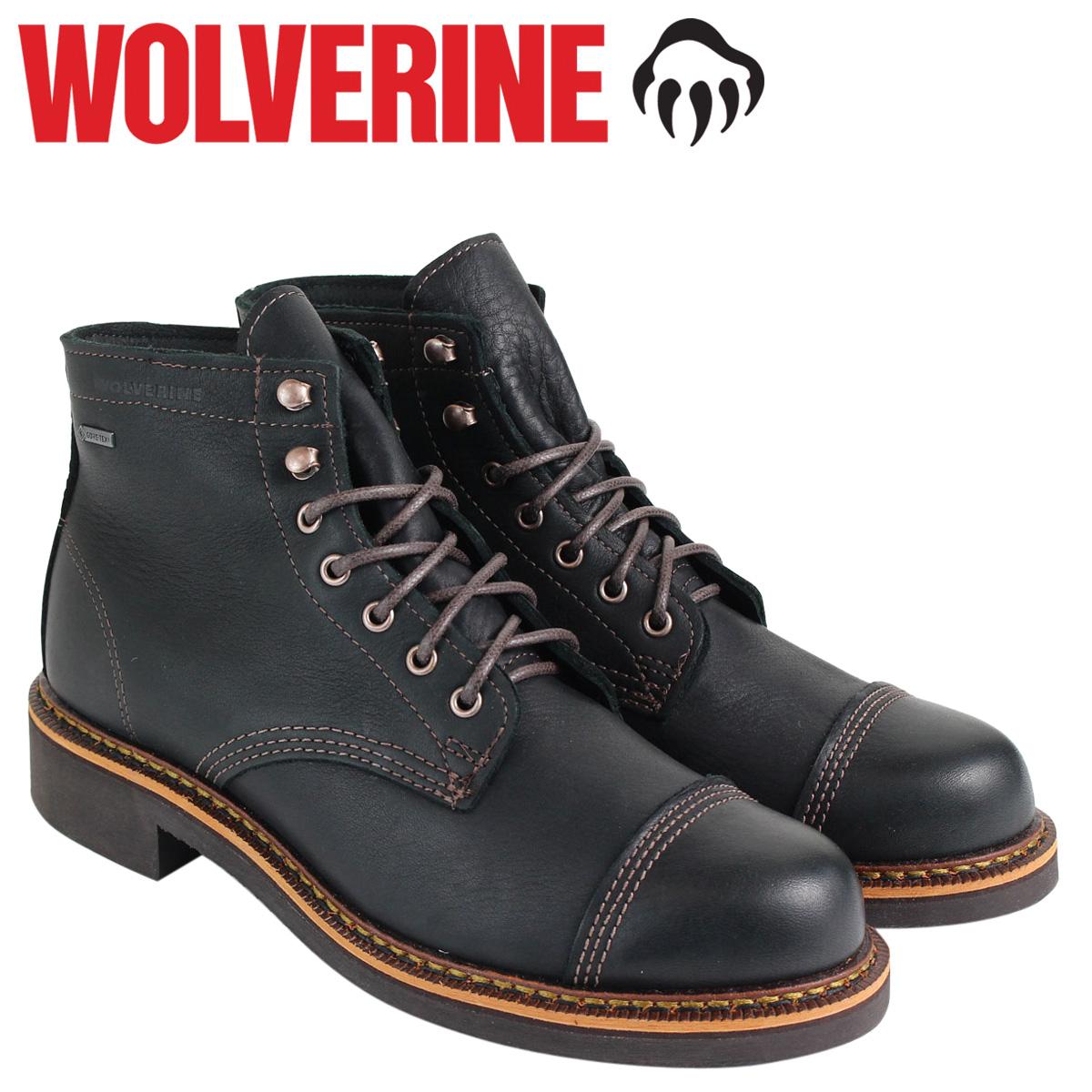 送料無料 あす楽対応 特別セール品 ウルヴァリン WOLVERINE 1000マイル ブーツ 最大1000円OFF ブーツE WATERPROOF BOOT メンズ ブラック W40418 JENSON Dワイズ 贈与 ワークブーツ