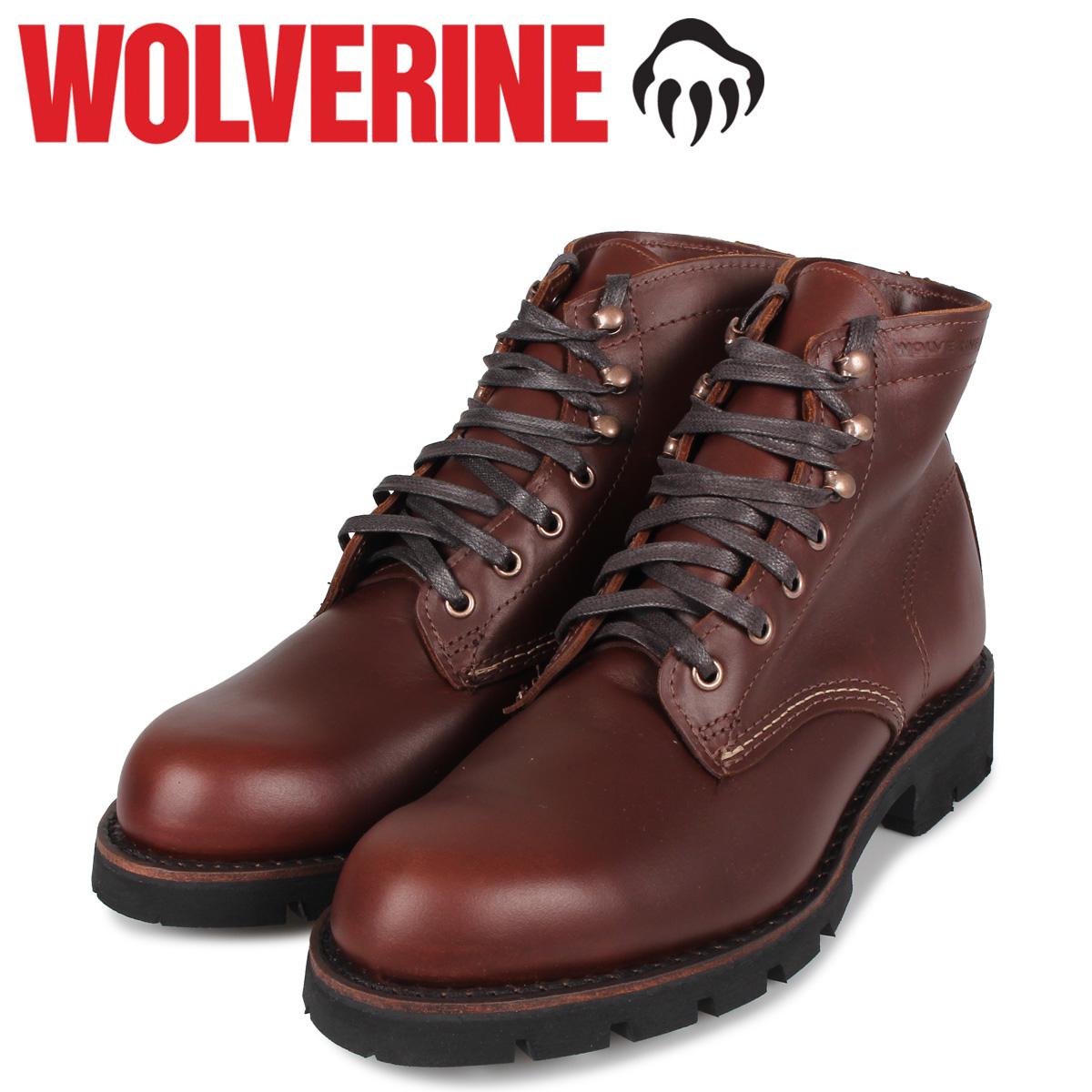 ウルヴァリン WOLVERINE 1000マイルブーツ メンズ 1000MILE BOOT ARCTIC GRIP Dワイズ ブラウン W40536
