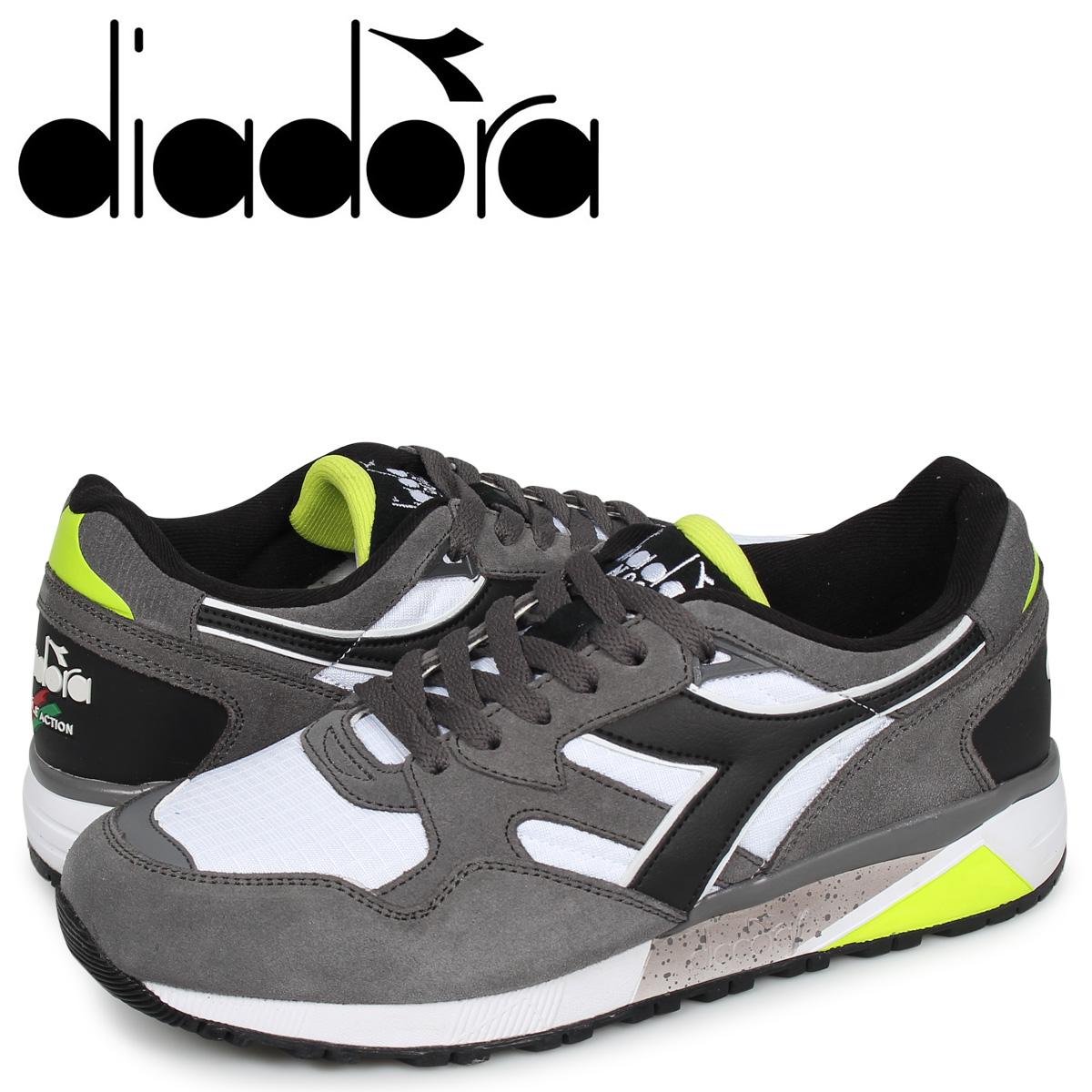 ディアドラ Diadora ニュートラ 9002 スニーカー メンズ N9002 グレー 173073-4400