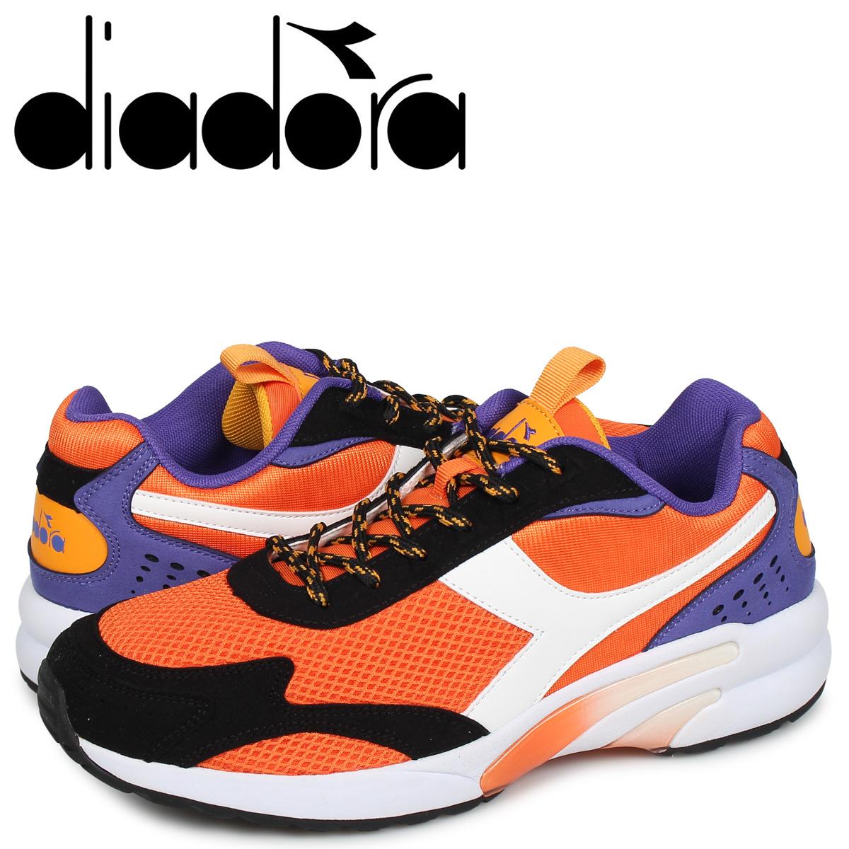 ディアドラ Diadora ディスタンス 280 スニーカー メンズ DISTANCE 280 オレンジ 175099-0051