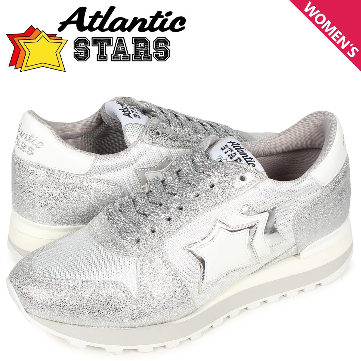 アトランティックスターズ Atlantic STARS アレナ スニーカー レディース ALHENA シルバー AG-NY-LGBB
