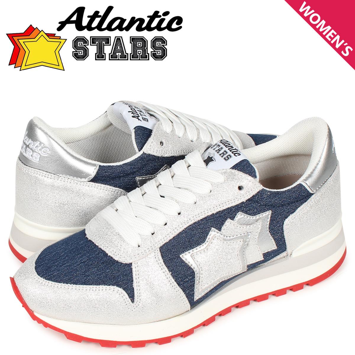 アトランティックスターズ Atlantic STARS アレナ スニーカー レディース ALHENA ネイビー WB-NY-RBGB
