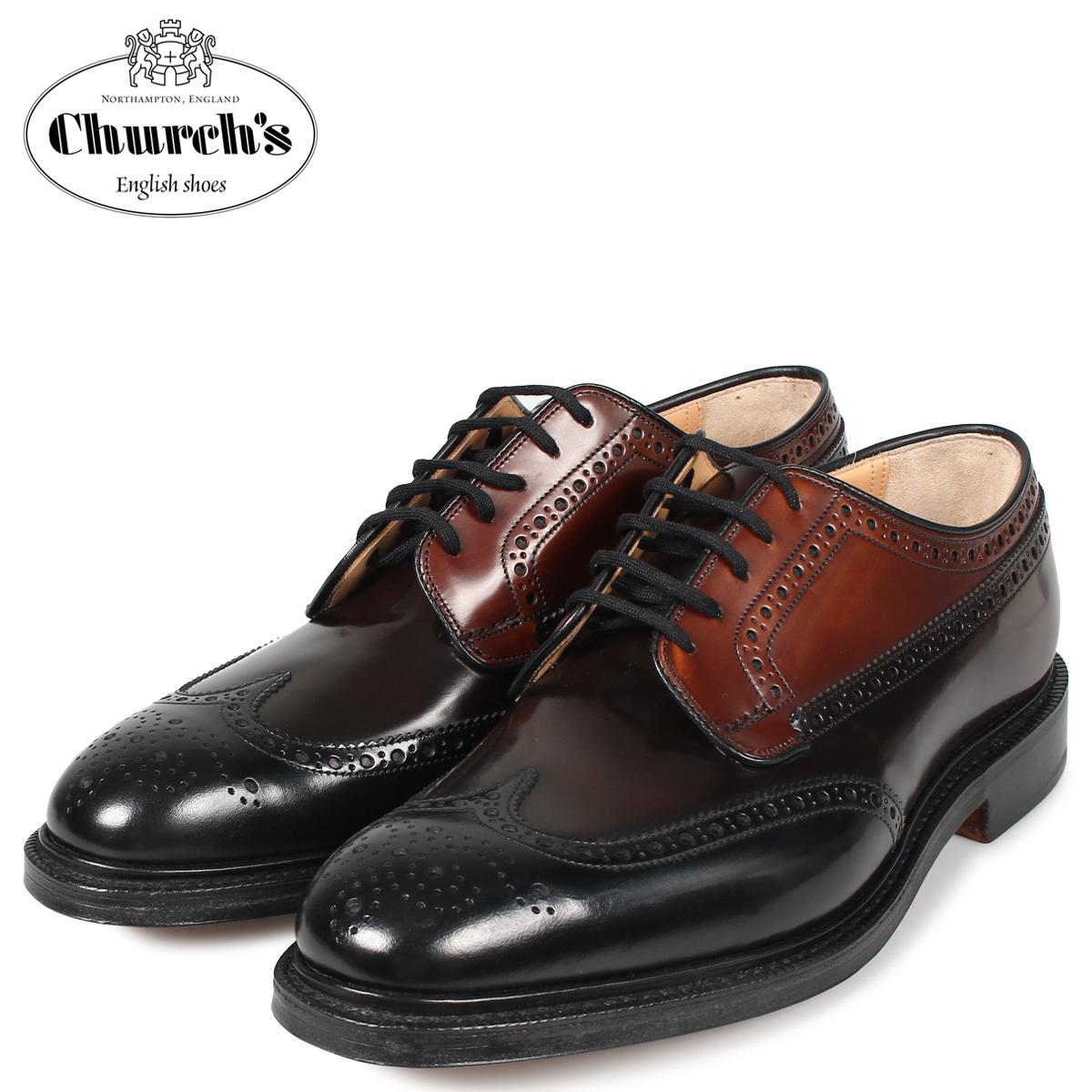 チャーチ Churchs グラフトン ウイングチップ 靴 シューズ メンズ GRAFTON ブラック 黒 EEB009