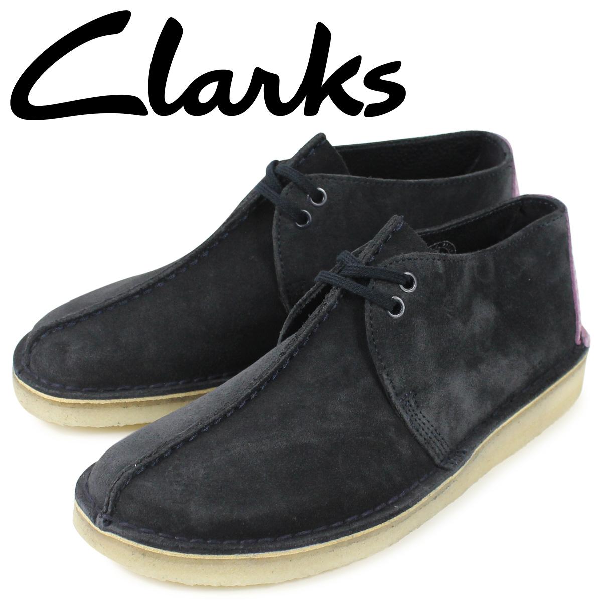 クラークス Clarks デザートトレック ブーツ メンズ DESERT TREK ブラック 黒 26144175