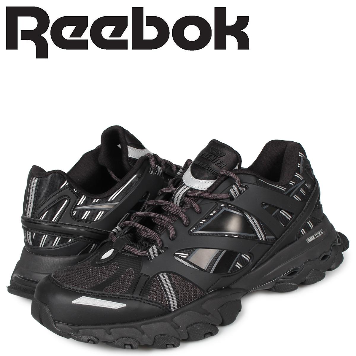 リーボック Reebok ディーエムエックス トレイル シャドウ スニーカー メンズ DMX TRAIL SHADOW ブラック 黒 EF8811