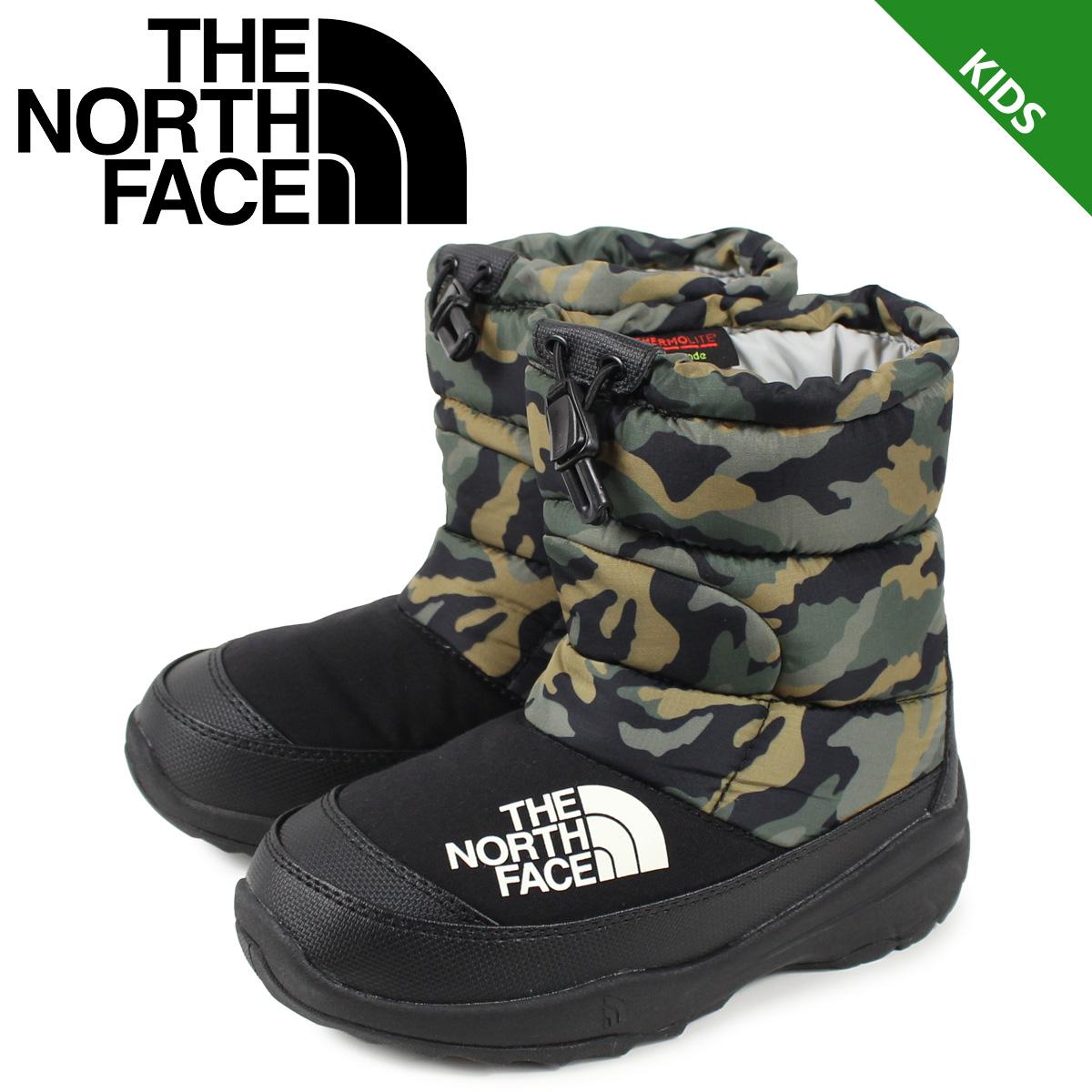 ノースフェイス THE NORTH FACE ヌプシ ブーティー 4 ブーツ キッズ K NUPTSE BOOTIE 4 カモ 迷彩 NFJ51981 [11/18 新入荷]