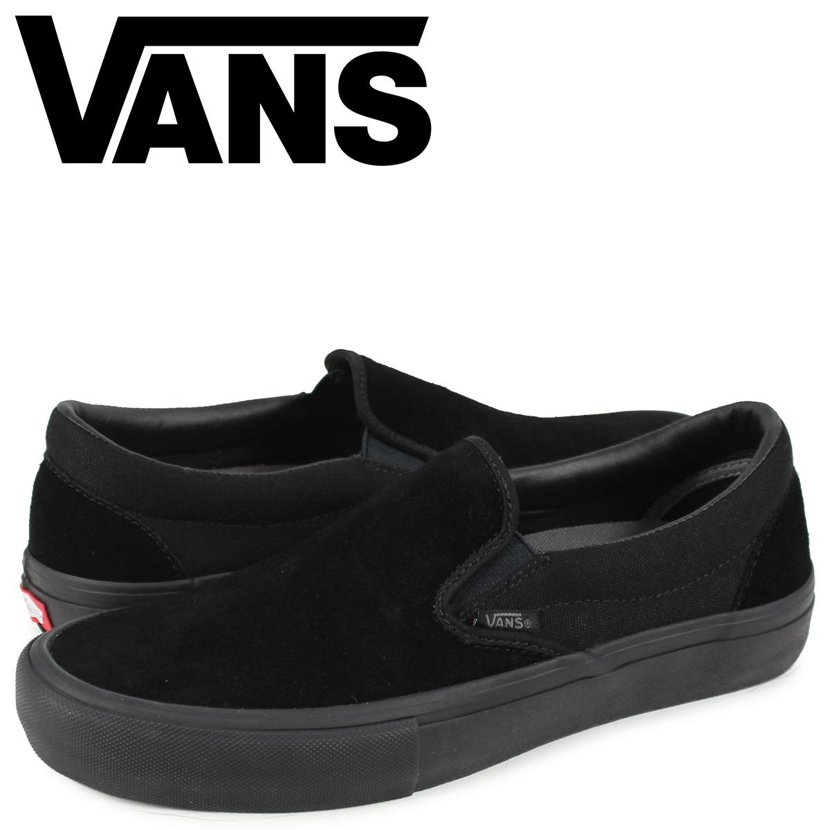 VANS ヴァンズ スリッポン スニーカー メンズ CLASSIC SLIP-ON ブラック 黒 VN00097M1OJ