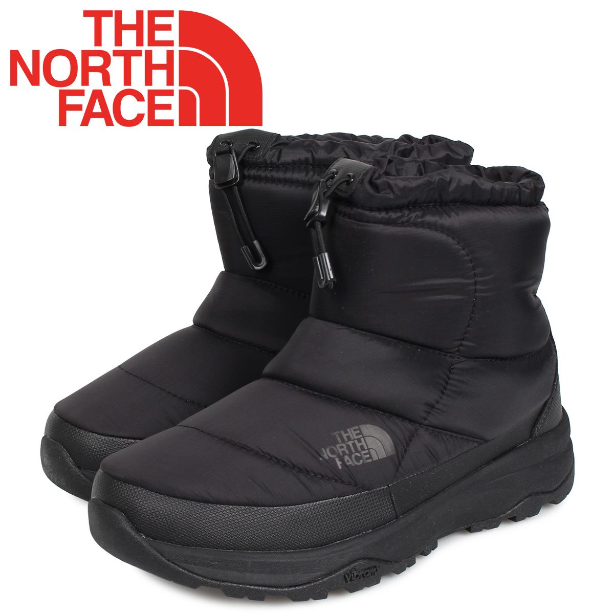 ノースフェイス THE NORTH FACE ヌプシ ブーティー ウォータープルーフ ブーツ 6 ショート ウィンターブーツ メンズ レディース NUPTSE BOOTIE WP6 SHORT ブラック 黒 NF51874