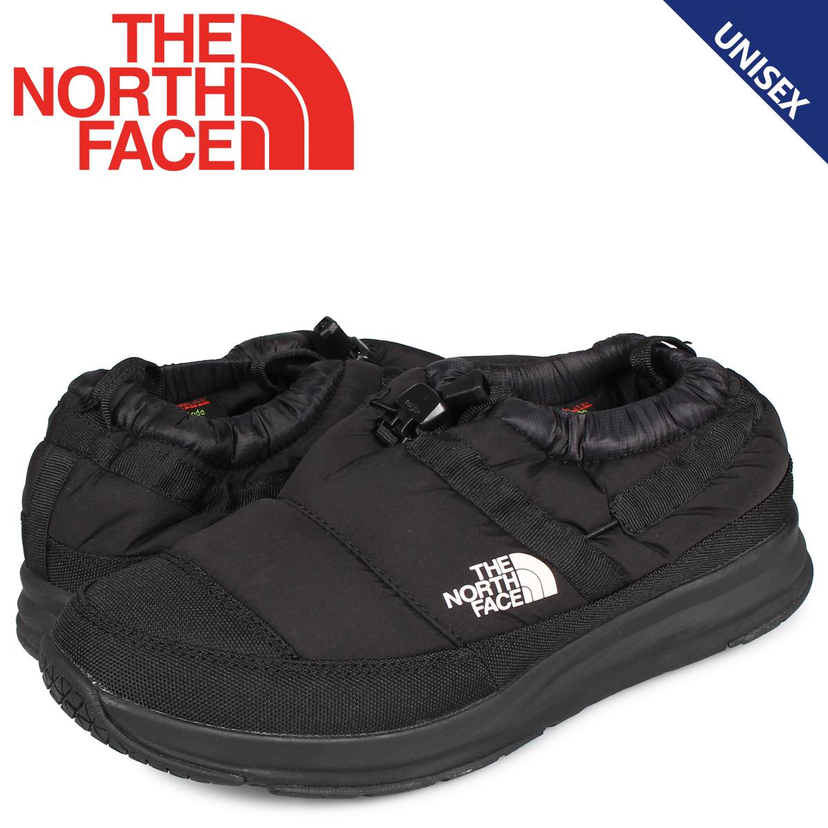 ノースフェイス THE NORTH FACE ヌプシ トラクションライト モック 4 シューズ スリッポン メンズ レディース NUPTSE TRACTION LITE MOC 4 ブラック 黒 NF51985
