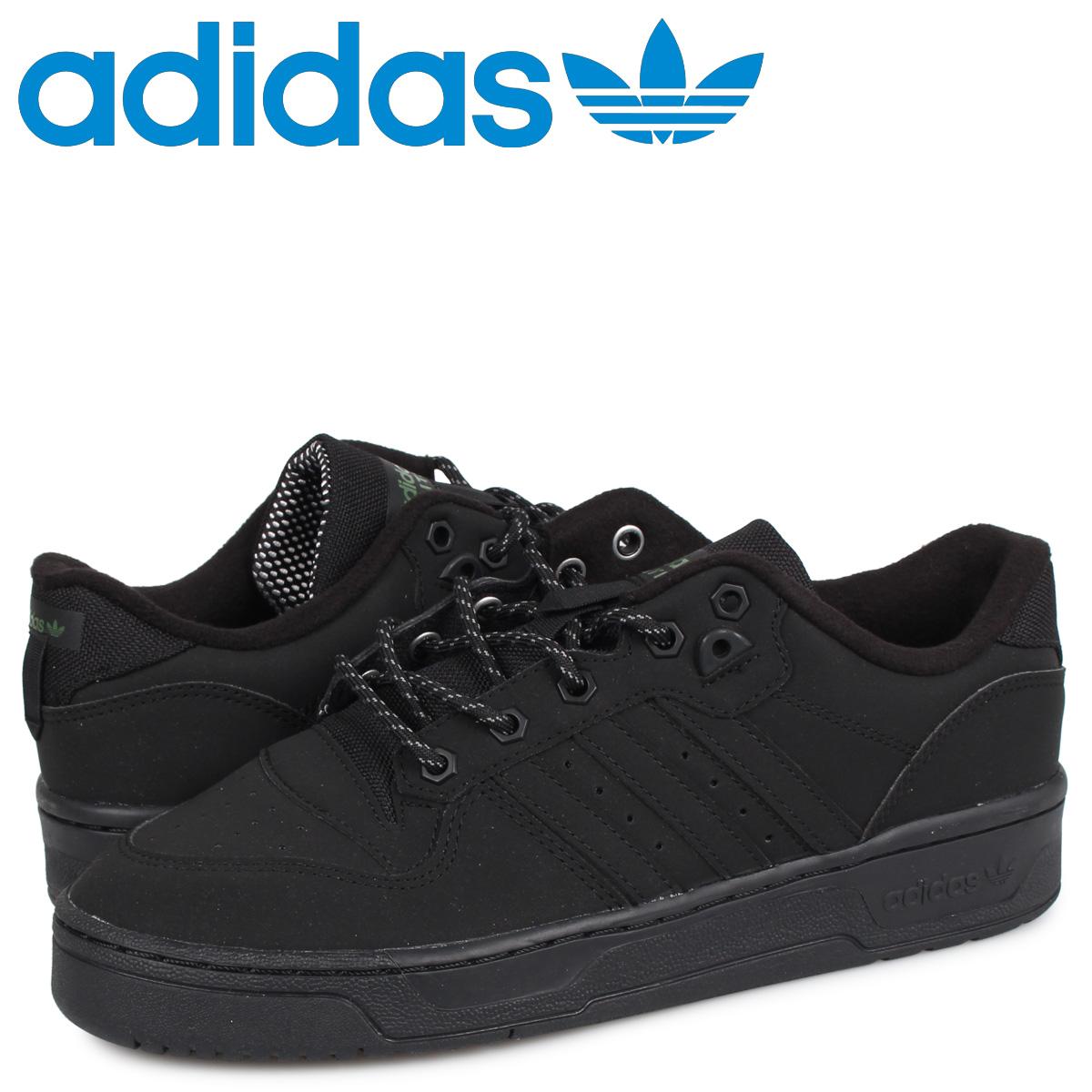 アディダス オリジナルス adidas Originals ライバルリー スニーカー メンズ RIVALRY ブラック 黒 FV4614