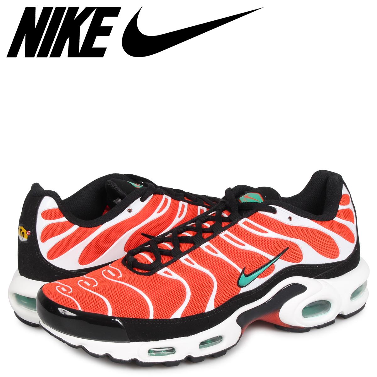 【お買い物マラソンSALE】 NIKE AIR MAX PLUS ナイキ エアマックス プラス スニーカー メンズ オレンジ 852630-801