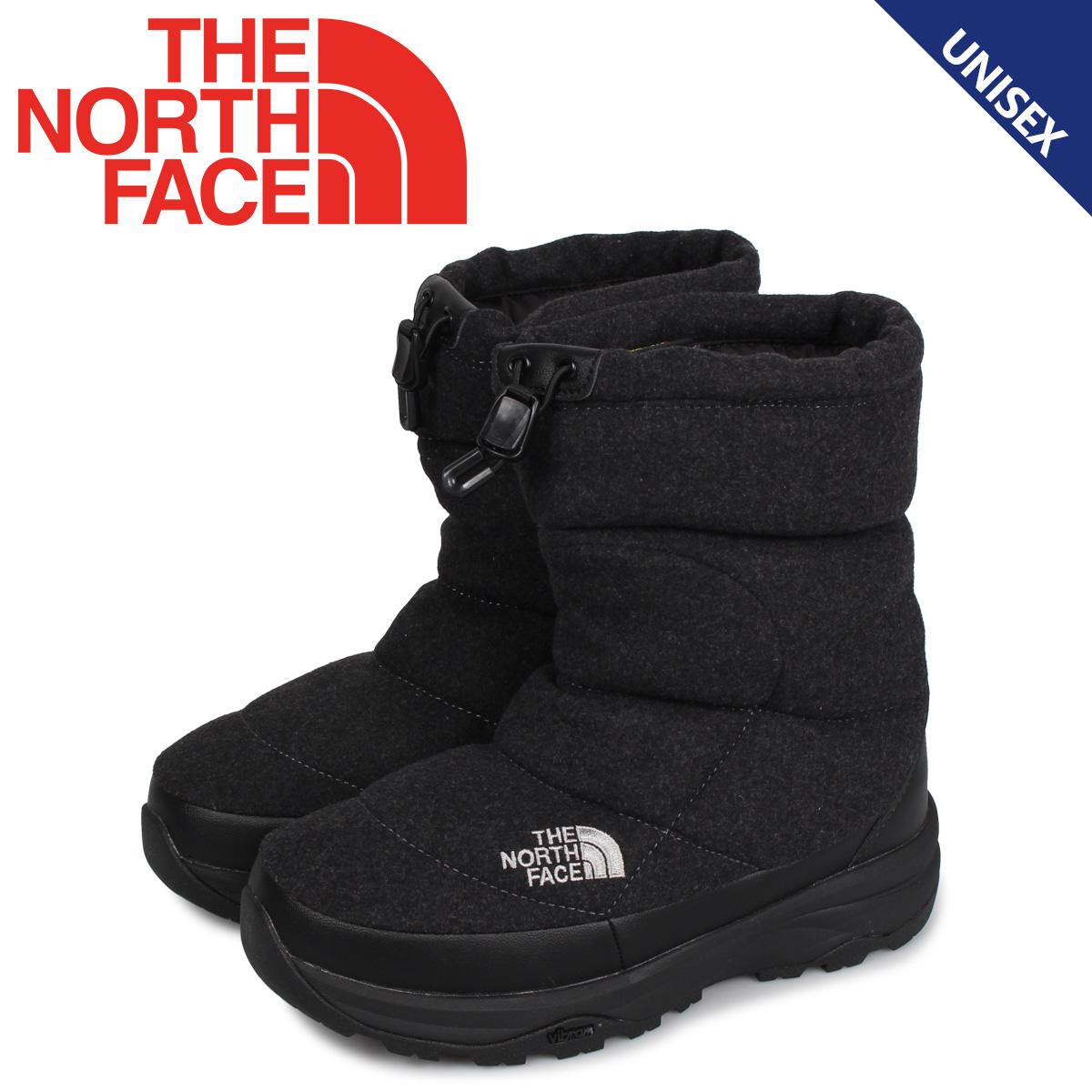 【最大2000円OFFクーポン】 ノースフェイス THE NORTH FACE ヌプシ ブーティ ウール5 ブーツ ウィンターブーツ メンズ レディース NUPTSE BOOTIE WOOL 5 チャコール NF51978
