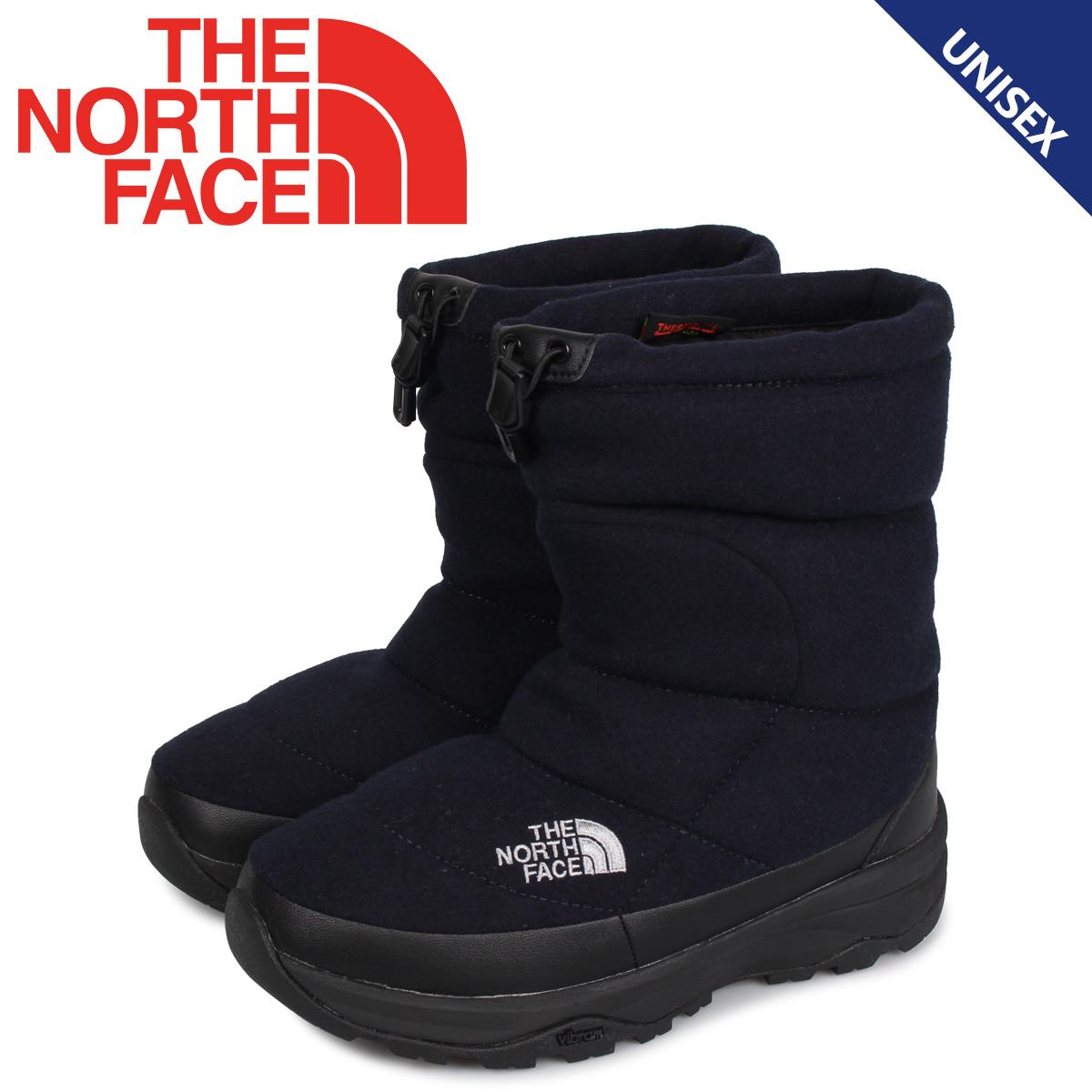 ノースフェイス THE NORTH FACE ヌプシ ブーティ ウール5 ブーツ ウィンターブーツ メンズ レディース NUPTSE BOOTIE WOOL 5 ネイビー NF51978