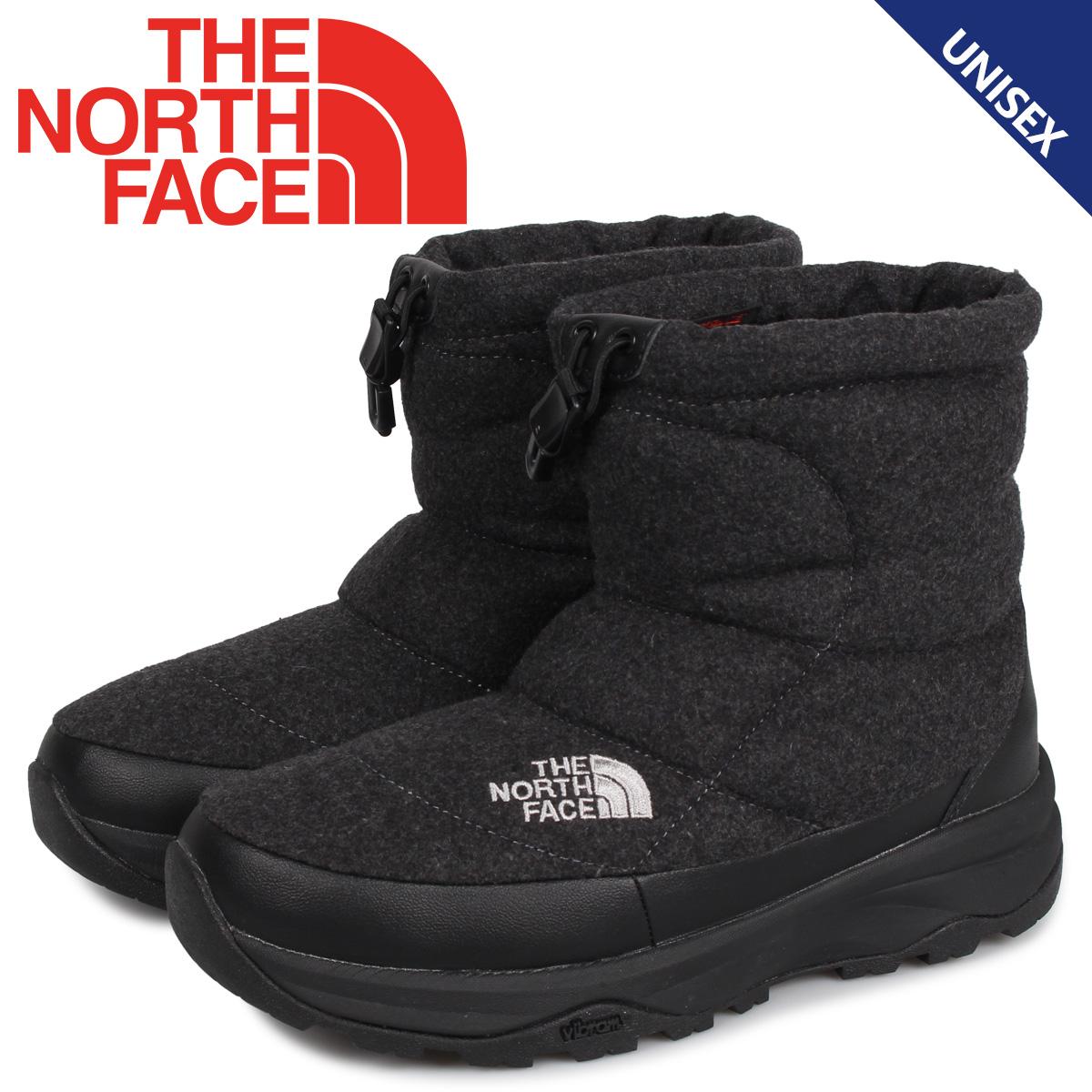 ノースフェイス THE NORTH FACE ヌプシ ブーティ ウール5 ショート ブーツ ウィンターブーツ メンズ レディース NUPTSE BOOTIE WOOL 5 SHORT チャコール グレー NF51979