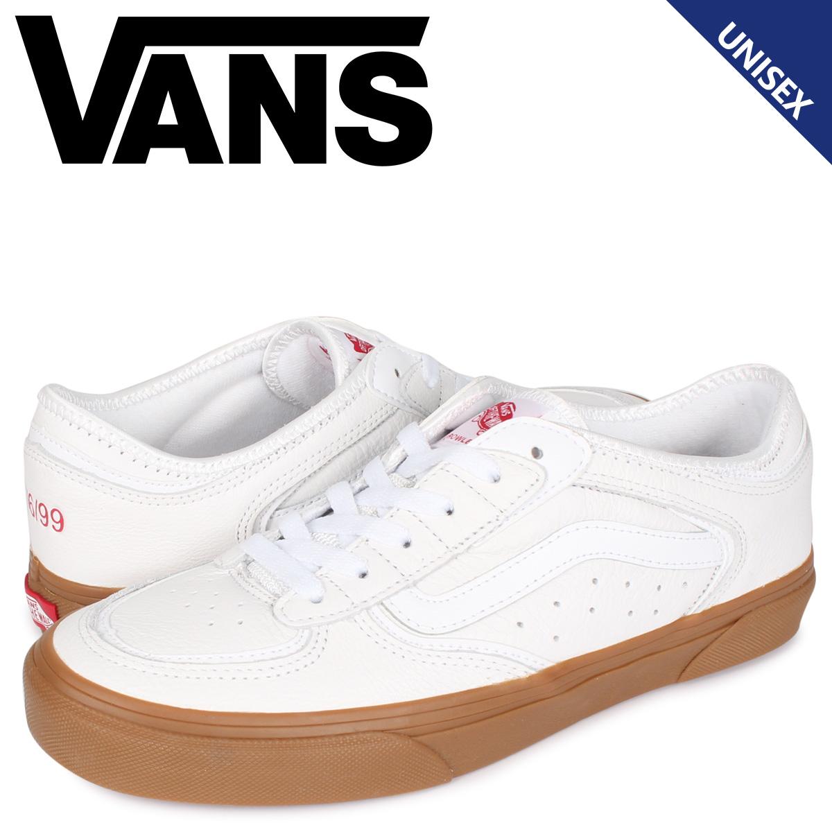 VANS ヴァンズ ロウリークラシック スニーカー メンズ レディース ROWLEY CLASSIC ホワイト 白 VN0A4BTTTRK