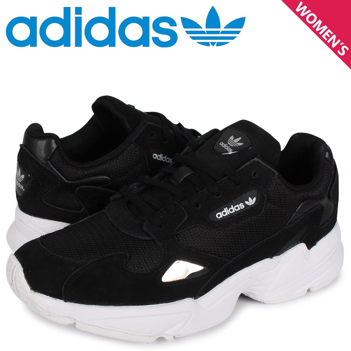 アディダス オリジナルス adidas Originals アディダスファルコン スニーカー レディース ADIDASFALCON W ブラック 黒 B28129