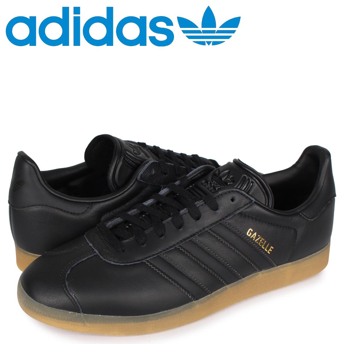 アディダス オリジナルス adidas Originals ガゼル スニーカー メンズ ガッツレー GAZELLE ブラック 黒 BD7480