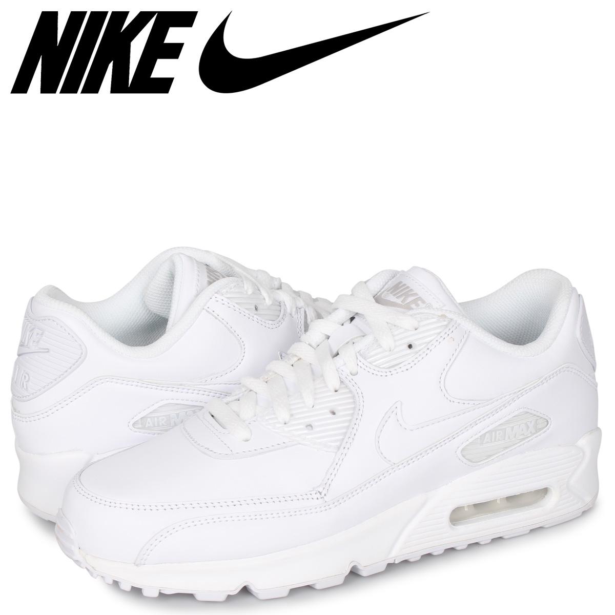 NIKE AIR MAX 90 LEATHER Kie Ney AMAX 90 sneakers men black black 302,519 014