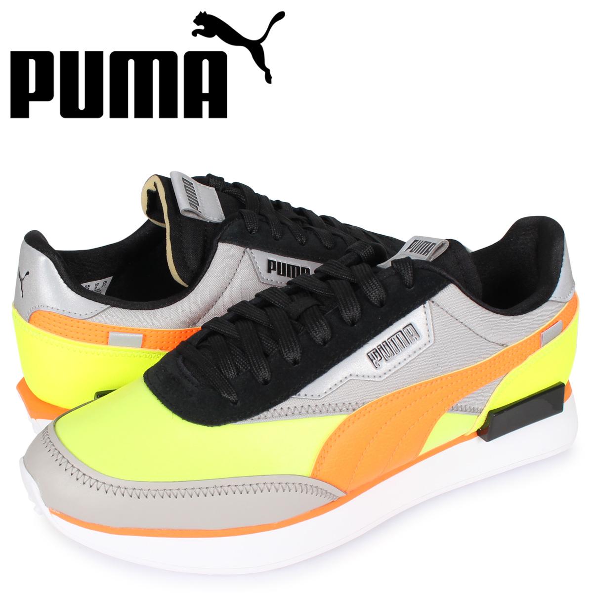 プーマ PUMA フューチャー ライダー スニーカー メンズ FUTURE RIDER RISK ALERT グレー 37317201