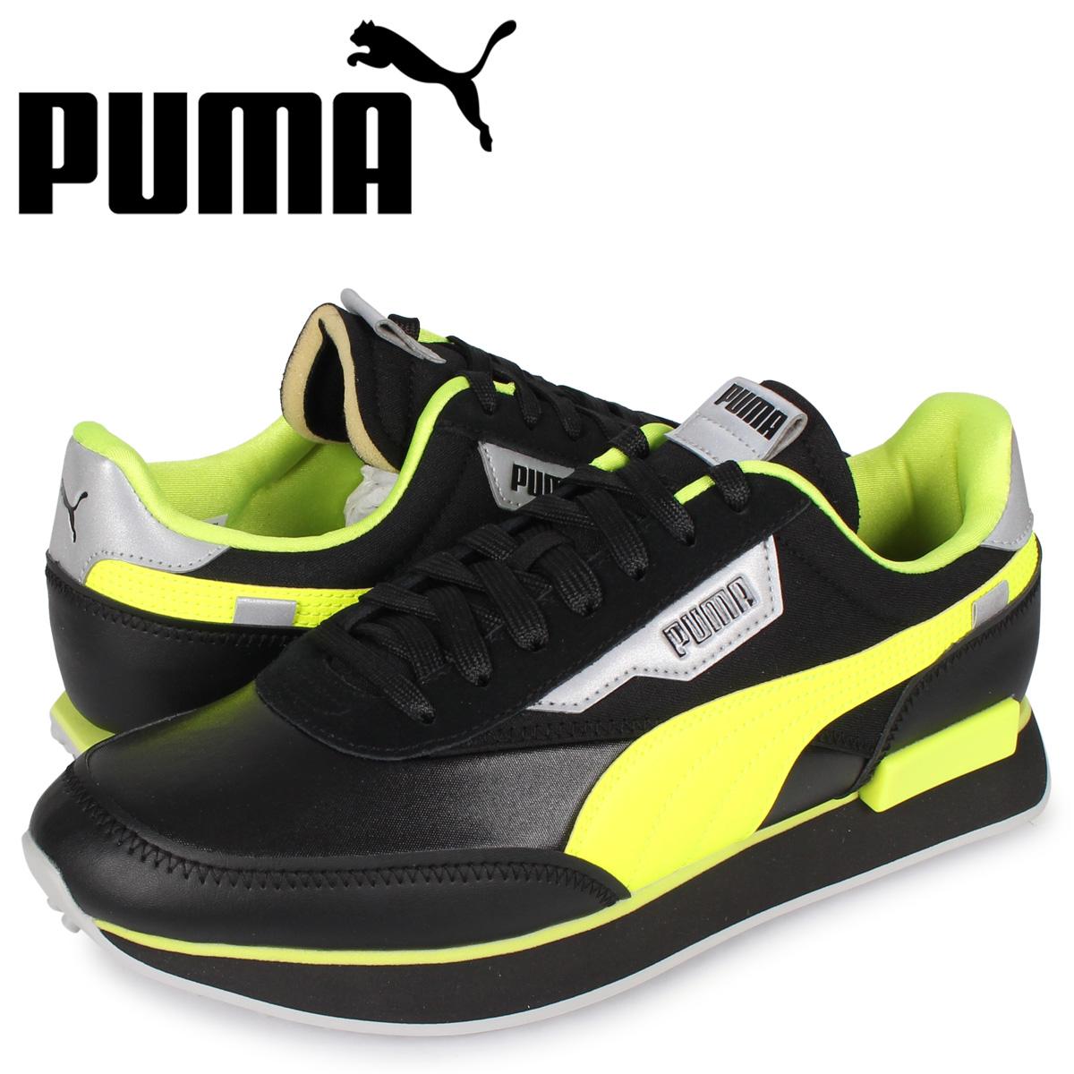 プーマ PUMA フューチャー ライダー スニーカー メンズ FUTURE RIDER RISK ALERT ブラック 黒 37317202