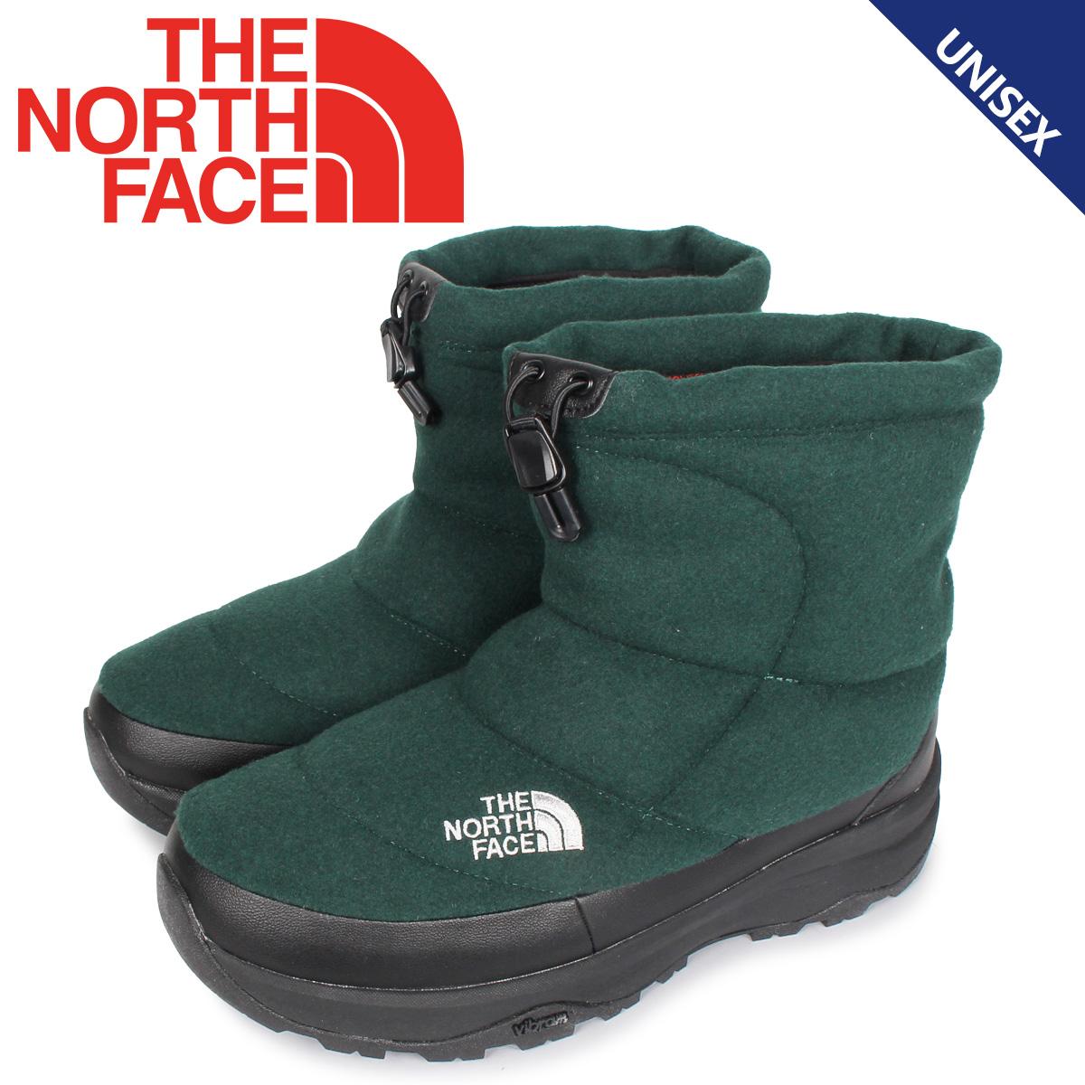 ノースフェイス THE NORTH FACE ヌプシ ブーティ ウール5 ショート ブーツ ウィンターブーツ メンズ レディース NUPTSE BOOTIE WOOL 5 SHORT グリーン NF51979
