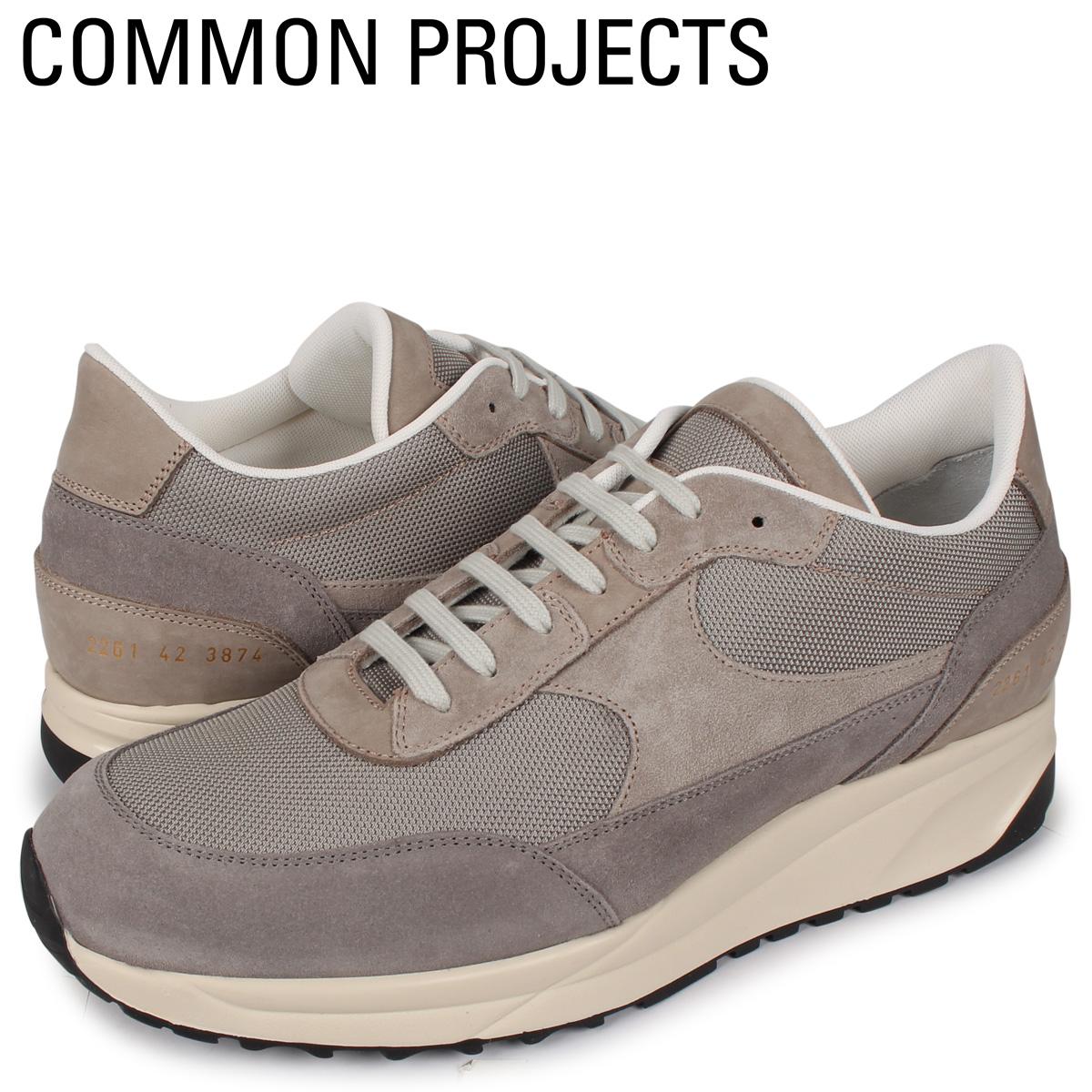 コモンプロジェクト Common Projects トラック クラシック スニーカー メンズ TRACK CLASSIC MULTI MATERIAL グレー 2261-3874W [4/2新入荷]