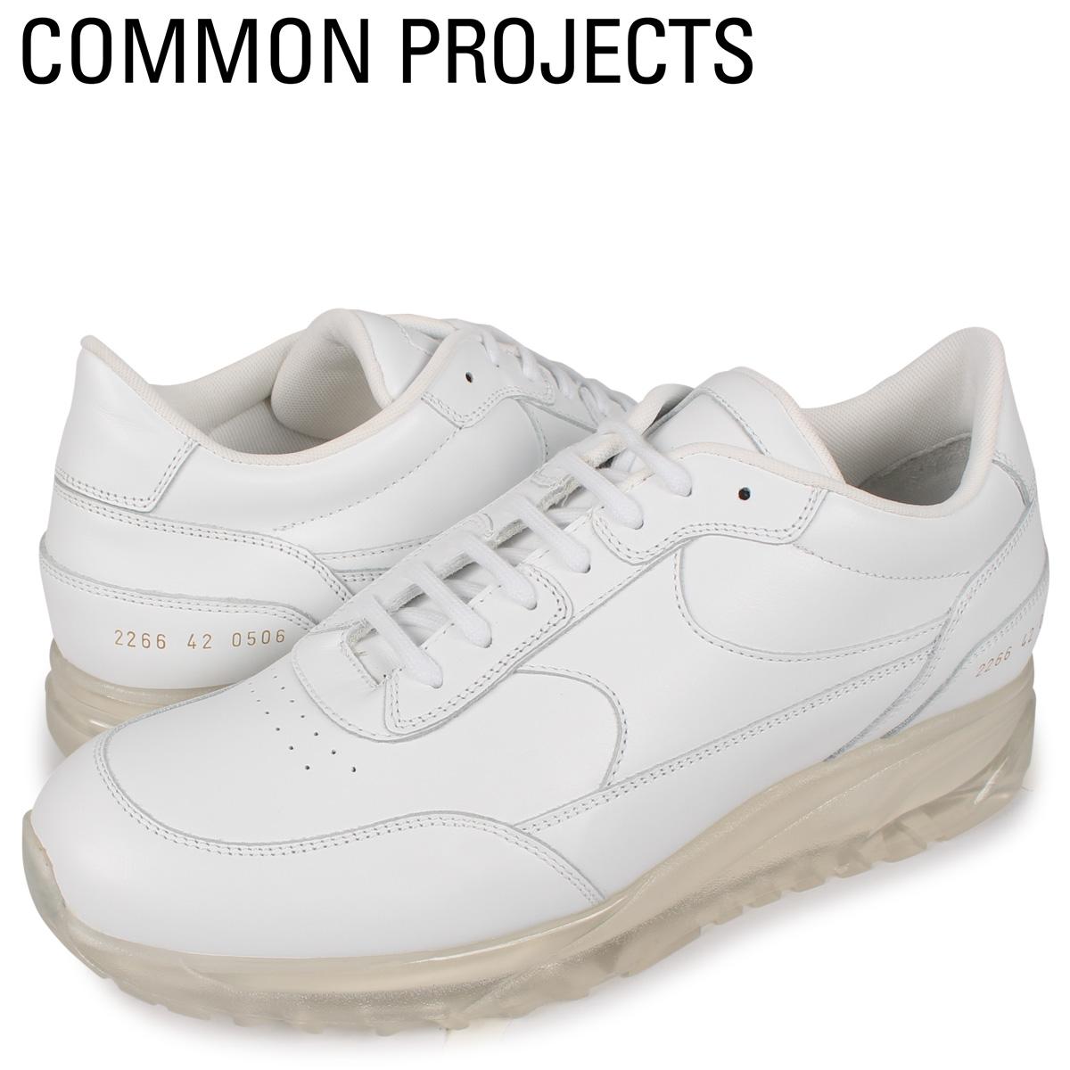 コモンプロジェクト Common Projects トーナメント スニーカー メンズ TRANSPARENT SOLE PACK ホワイト 白 2266-0506 [4/2新入荷]