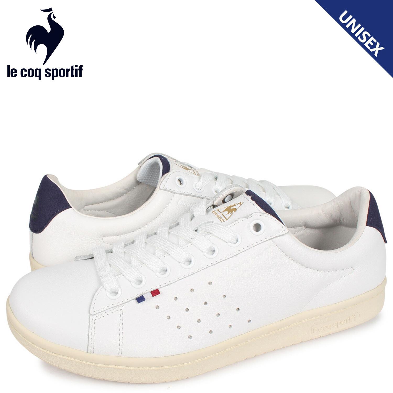 ルコック スポルティフ le coq sportif LA ローラン スニーカー メンズ レディース LA ROLAND LE+2 ホワイト 白 QL1NJC06WN [3/28 新入荷]