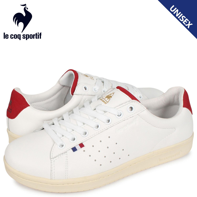 ルコック スポルティフ le coq sportif LA ローラン スニーカー メンズ レディース LA ROLAND LE+2 ホワイト 白 QL1NJC06WR [3/28 新入荷]