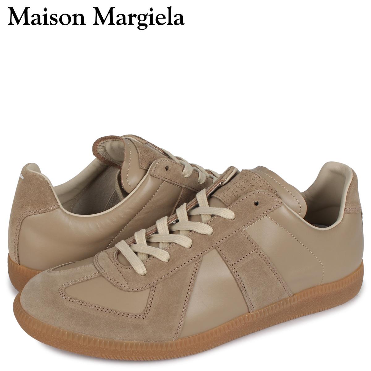 メゾンマルジェラ MAISON MARGIELA レプリカ スニーカー メンズ REPLICA LOW TOP ベージュ S57WS0236 [3/3 新入荷]