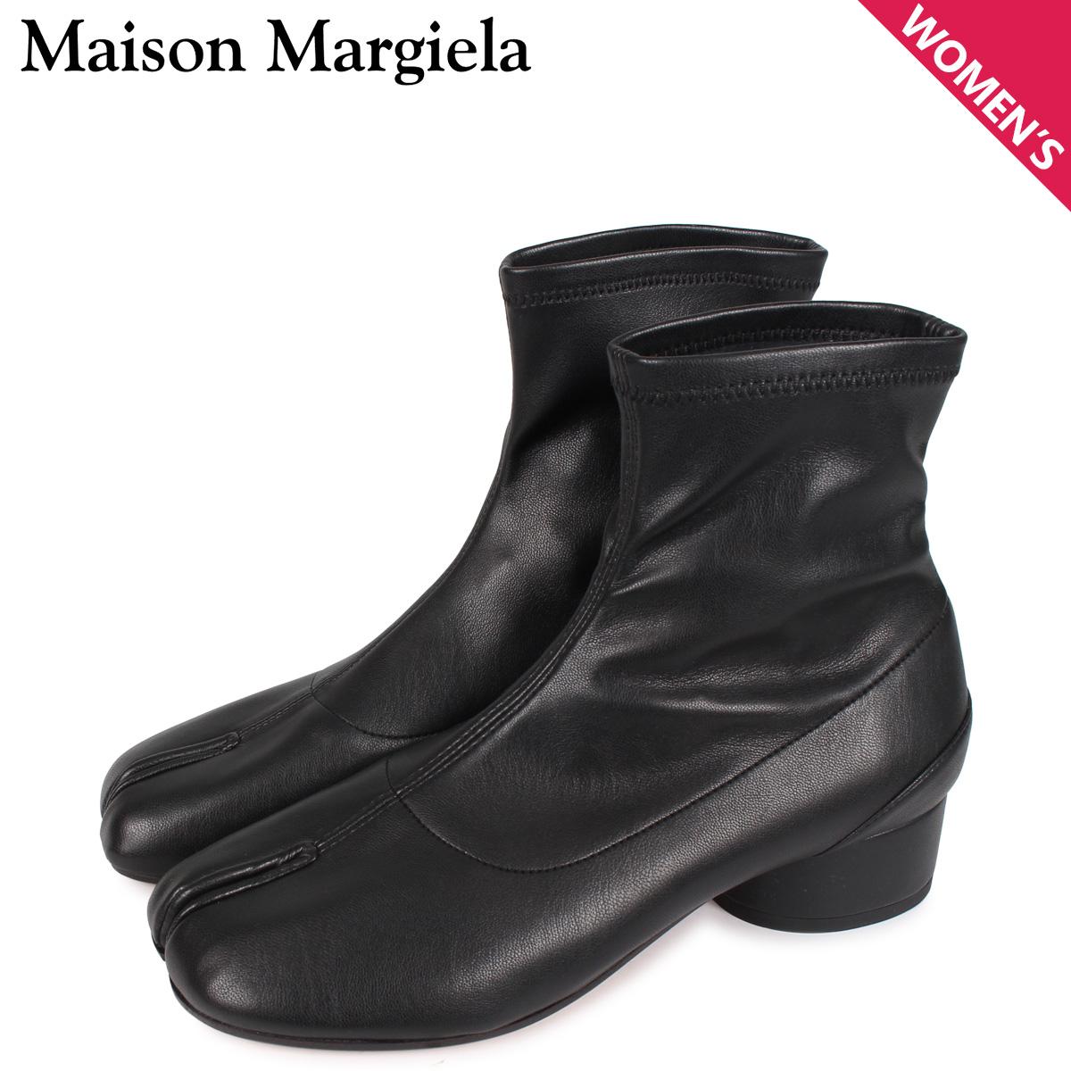 メゾンマルジェラ MAISON MARGIELA タビ アンクル ブーツ ブーツ ショートブーツ レディース TABI ANKLE BOOT ブラック 黒 S58WU0270 [4/6 新入荷]