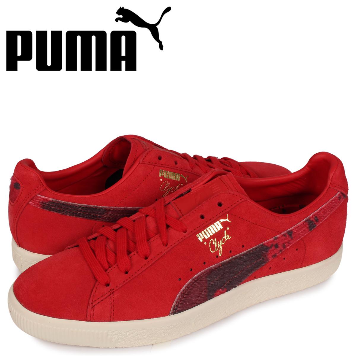 プーマ PUMA クライド パッカー スニーカー メンズ CLYDE X PACKER レッド 363507-02 [3/9 新入荷]