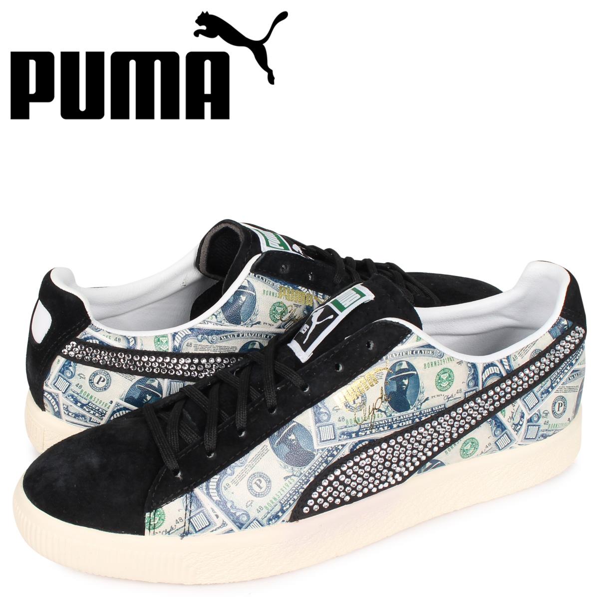 プーマ PUMA ミタ クライド スニーカー メンズ CLYDE X MITA ブラック 黒 364303-02 [3/9 新入荷]