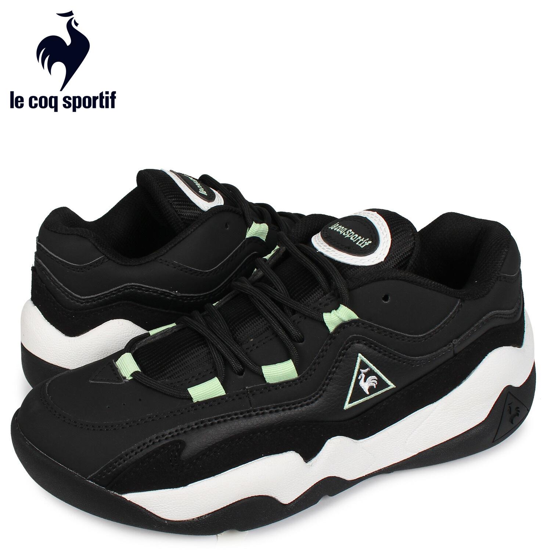 ルコック スポルティフ le coq sportif スニーカー メンズ LCS TR 2 ブラック 黒 QL2PJC25BM [4/1 新入荷]