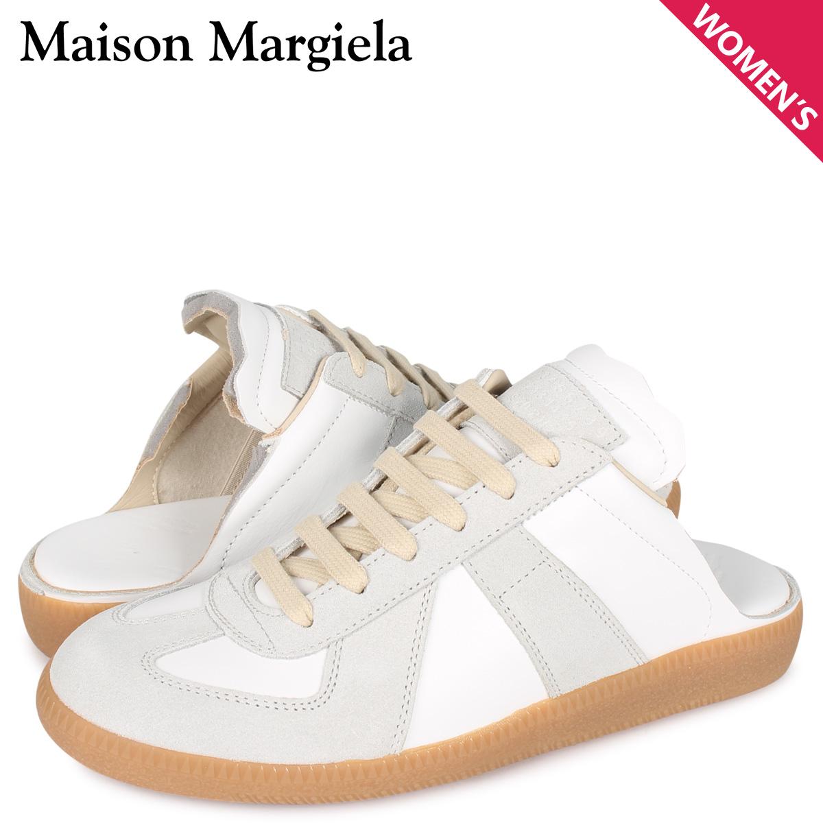メゾンマルジェラ MAISON MARGIELA レプリカ スニーカー スリッポン レディース REPLICA ホワイト 白 S58WS0107 [4/6 新入荷]