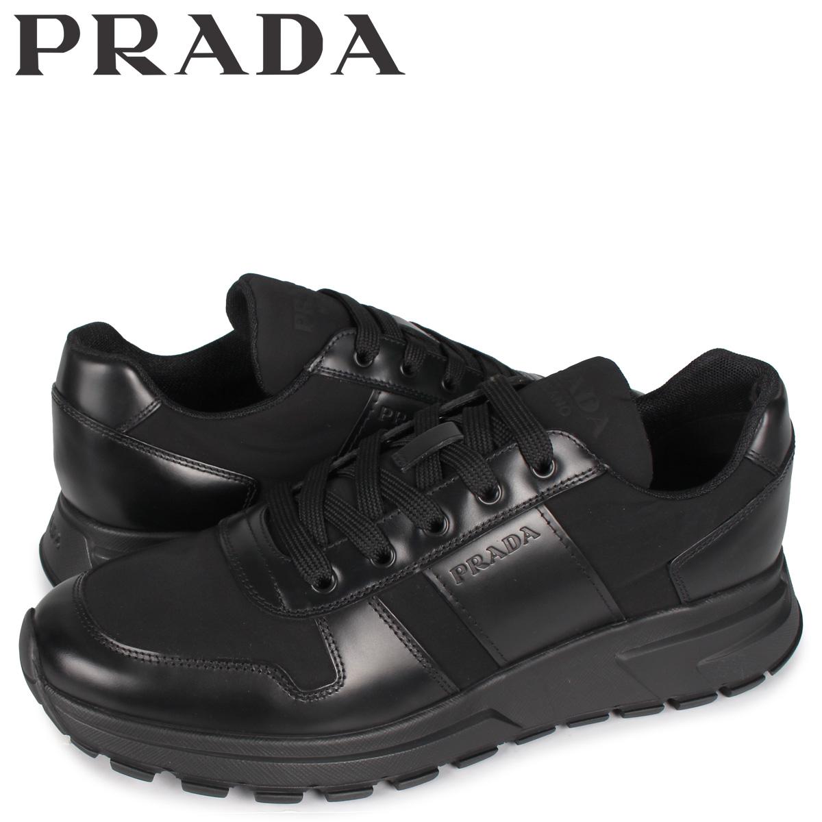 プラダ PRADA スニーカー メンズ PRAX 01 SNEAKER NYLON ブラック 黒 4E3463 [5/4 新入荷]