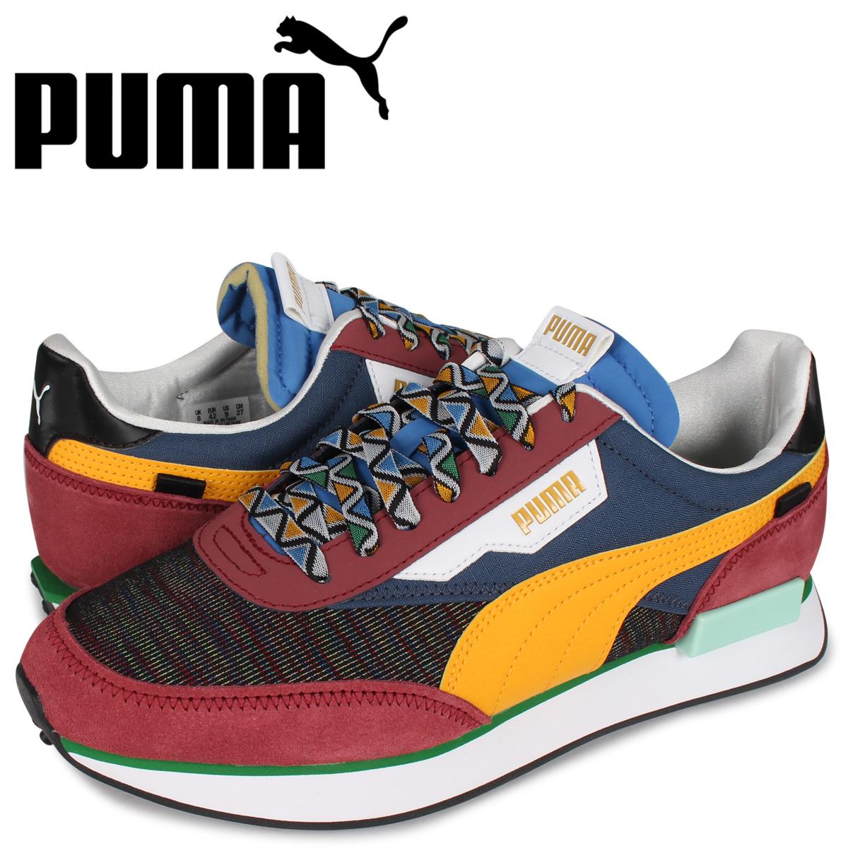 プーマ PUMA フューチャー ライダー スニーカー メンズ FUTURE RIDER MIX ブルー 37318401 [4/8 新入荷]