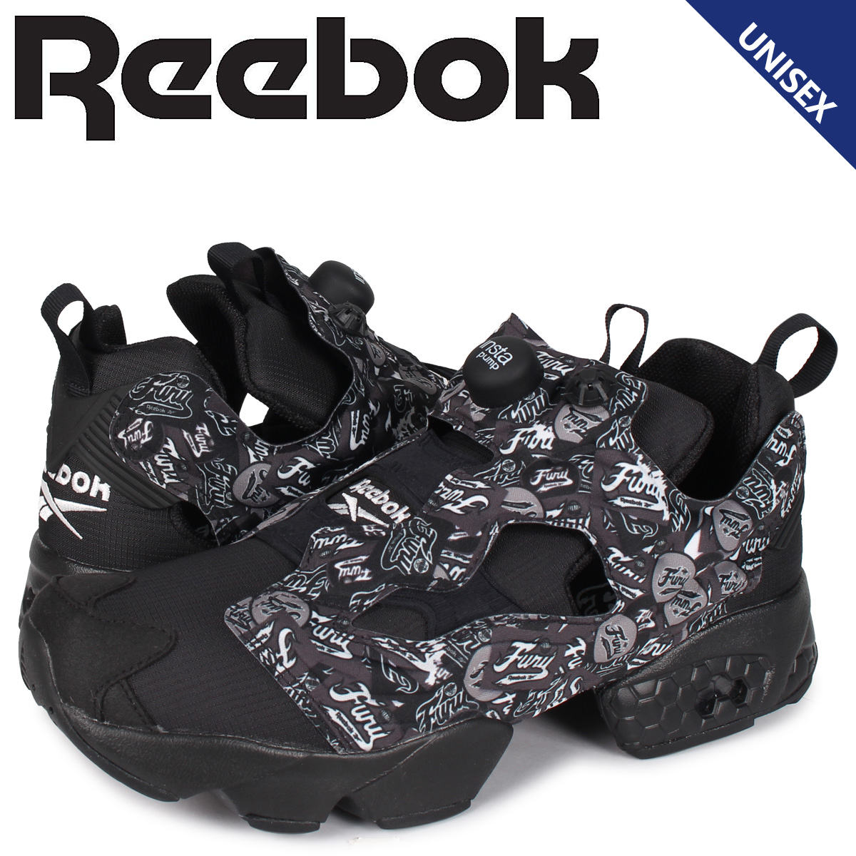 リーボック Reebok インスタ ポンプフューリー スニーカー メンズ レディース INSTAPUMP FURY OG NM ブラック 黒 EF7948 [4/7 新入荷]