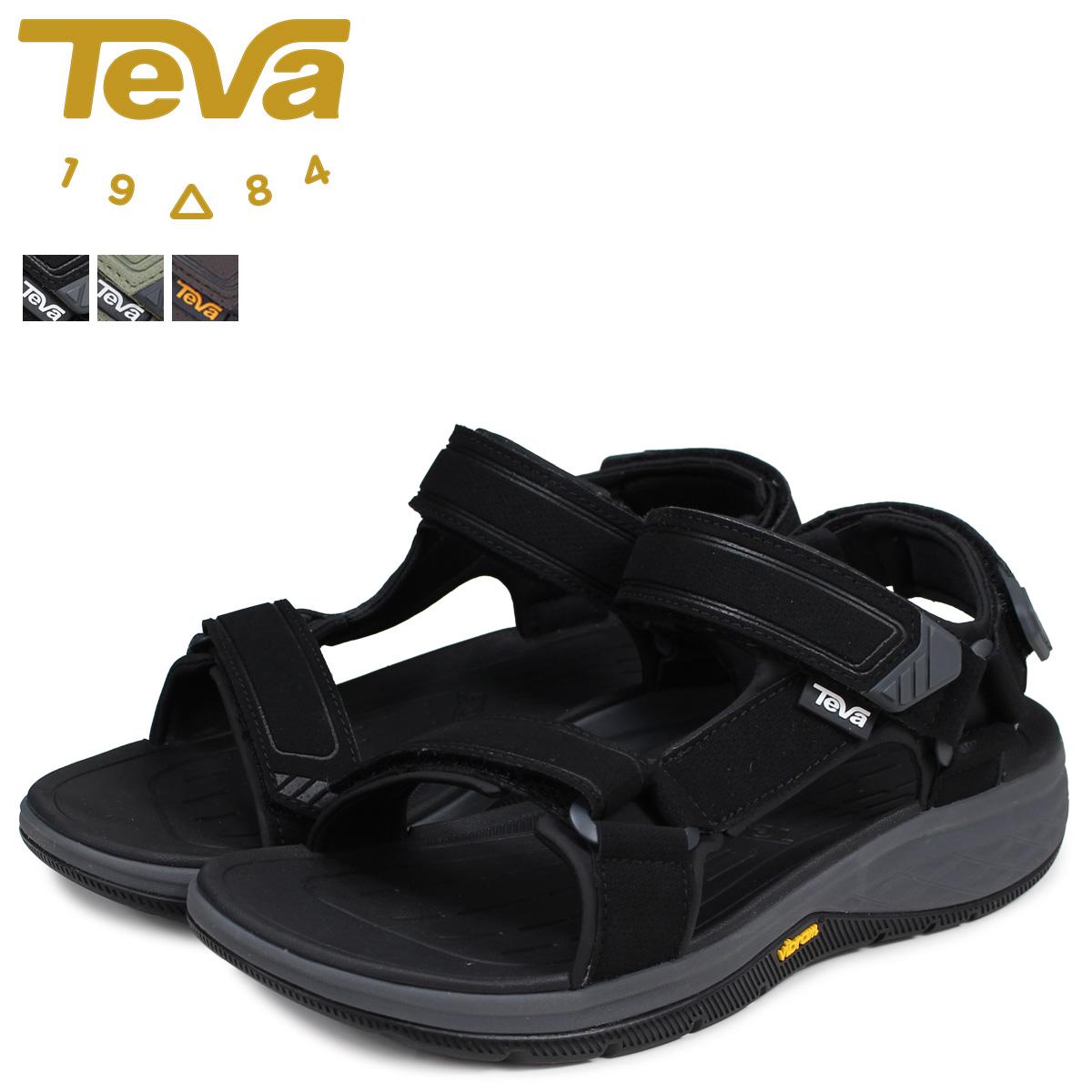 Teva テバ サンダル ストラータ ユニバーサル メンズ STRATA UNIVERSAL ブラック オリーブ 黒 1099445 [3/10 追加入荷]