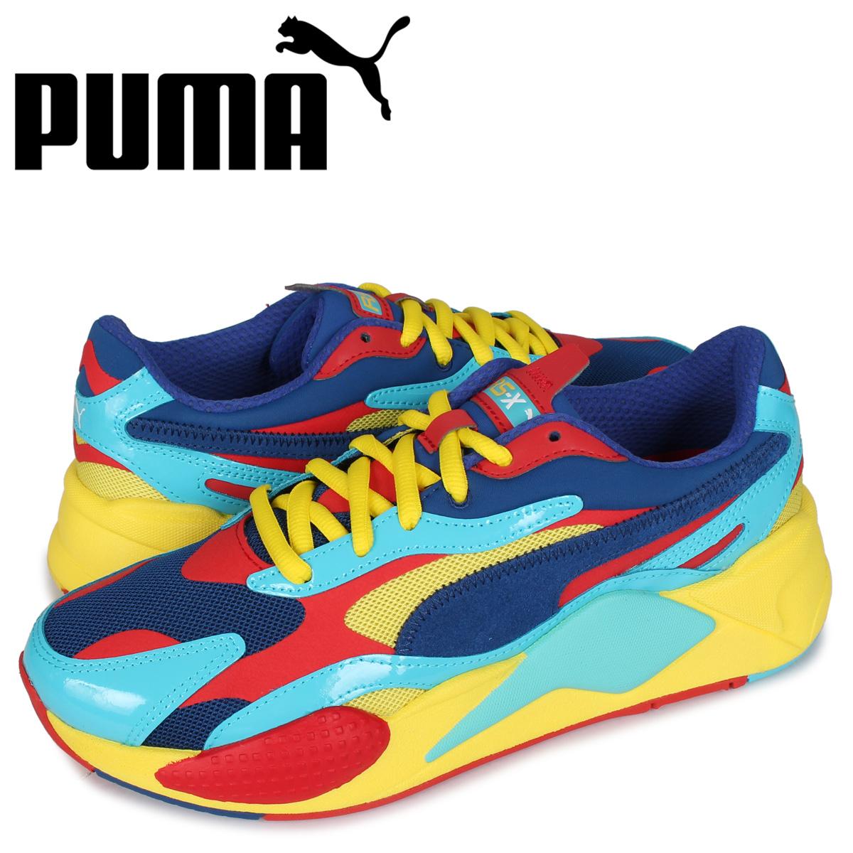 プーマ PUMA スニーカー メンズ RS-X3 PLASTIC レッド 37156906