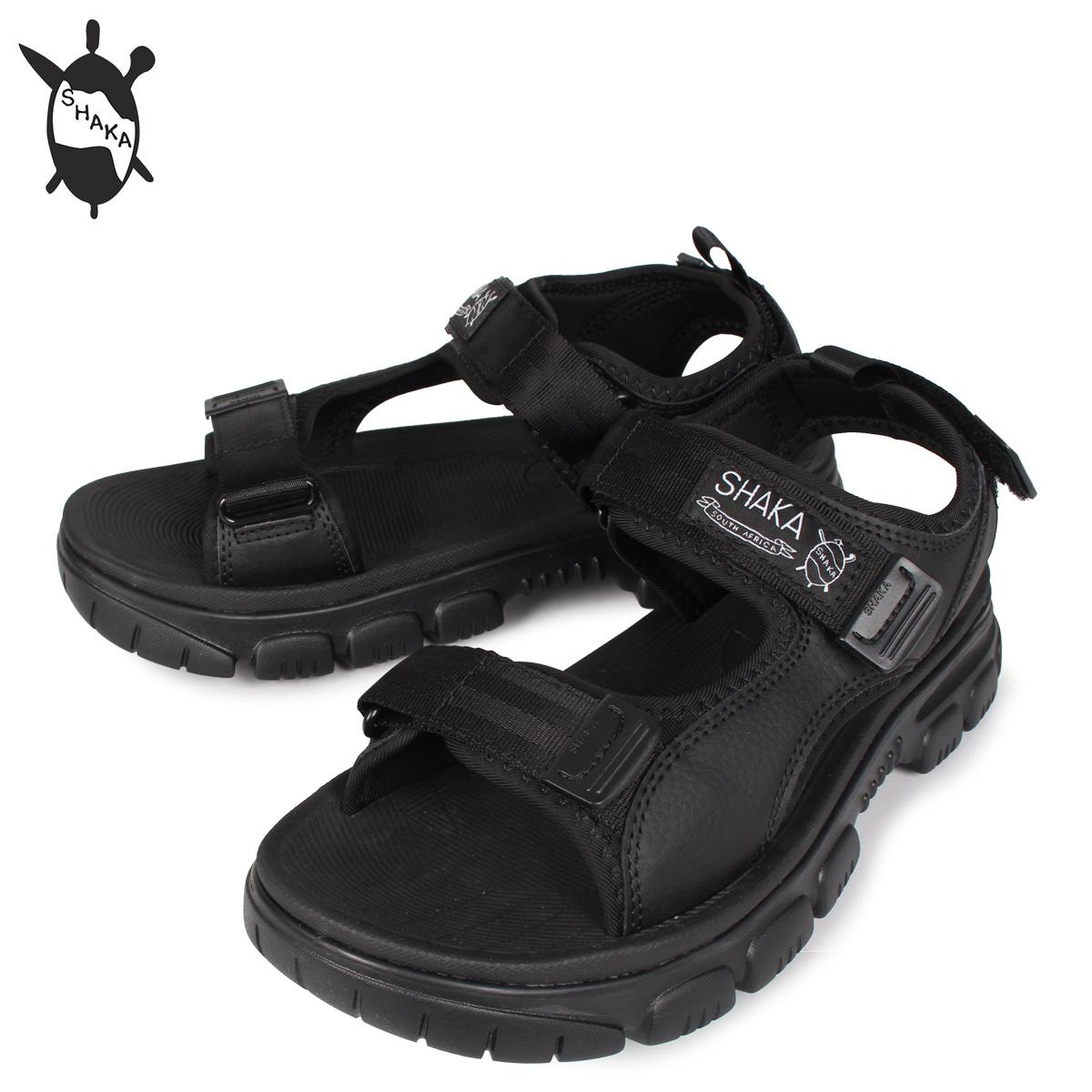 【お買い物マラソンSALE】 SHAKA シャカ ハンビー サンダル スポーツサンダル メンズ HUMVEE AT ブラック 黒 433147